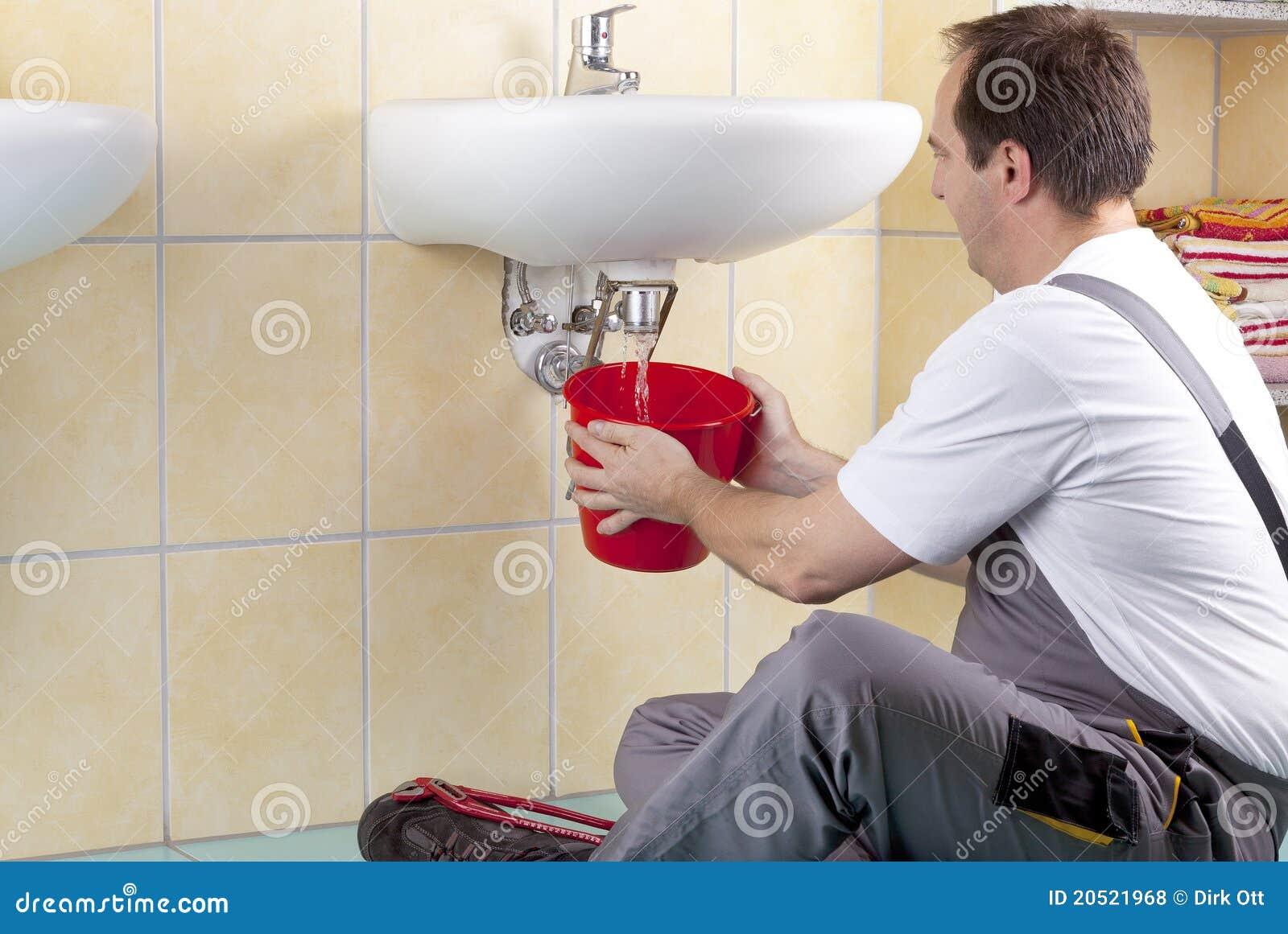 Plumber At Work Royalty Free Stock Photos Image 20521968