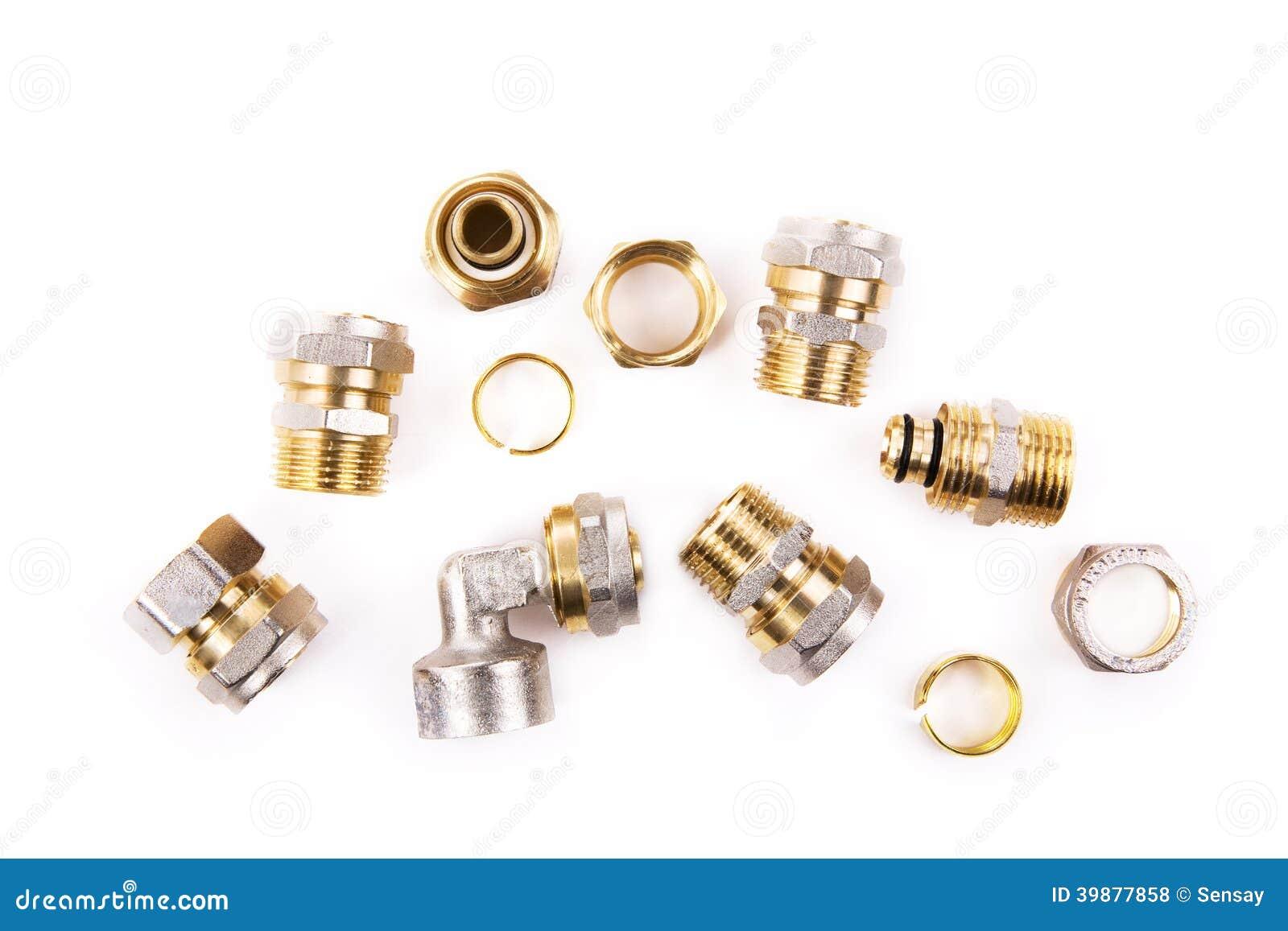 Plumbing Fittings Stock Photo. Image Of Repair, Connector