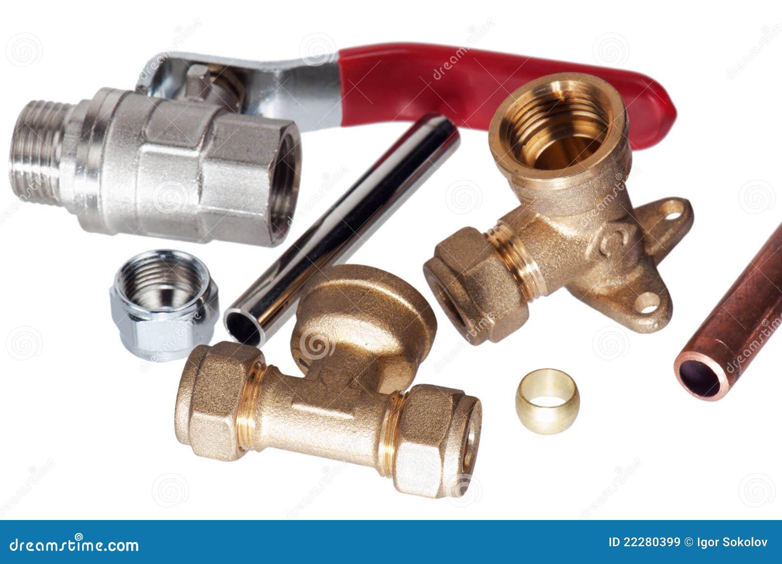 Plumbing Fixtures Royalty Free Stock Images