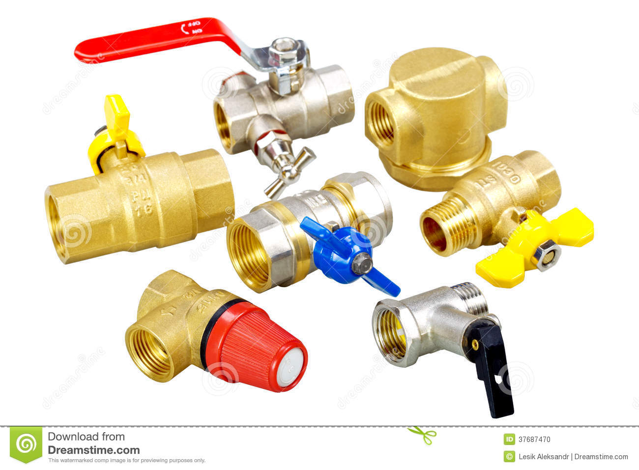 Plumbing fixtures valves fittings stock photo image of