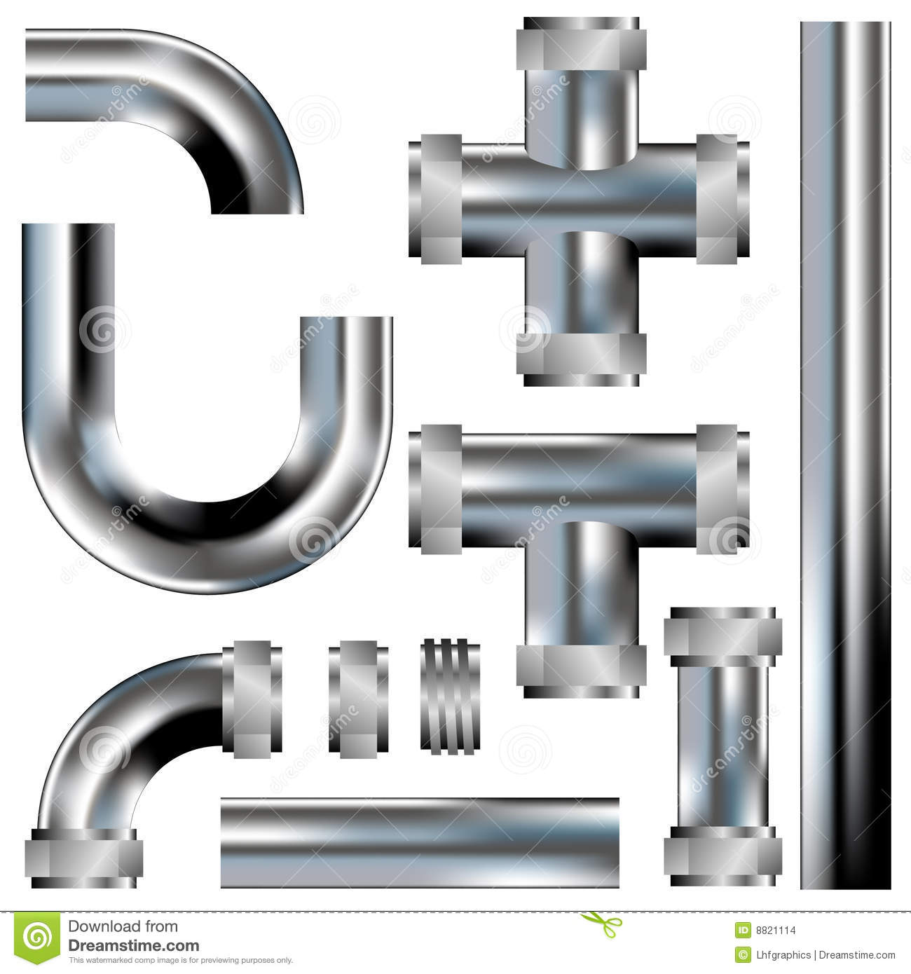 Plumbing Pipes Stock Images Image 8821114