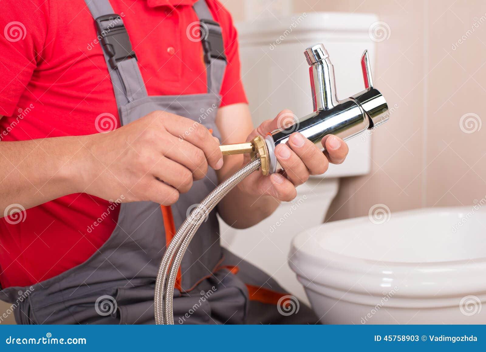 Plumbing Stock Photo Image 45758903