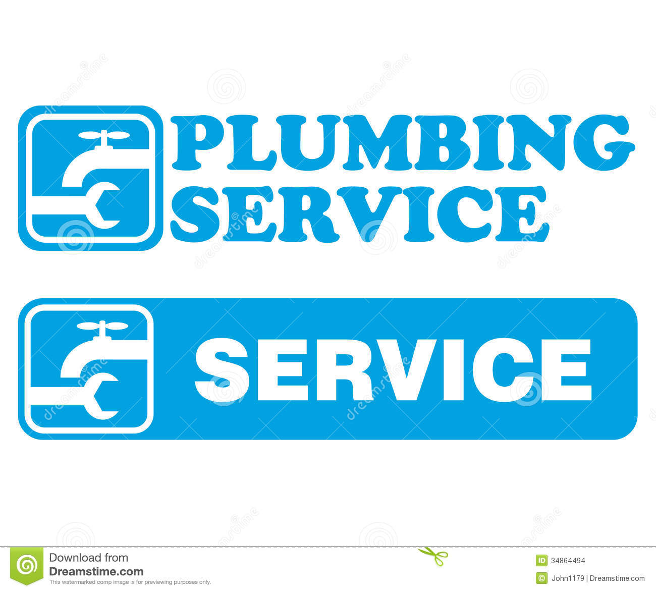 plumbing service stock vector  illustration of plumber