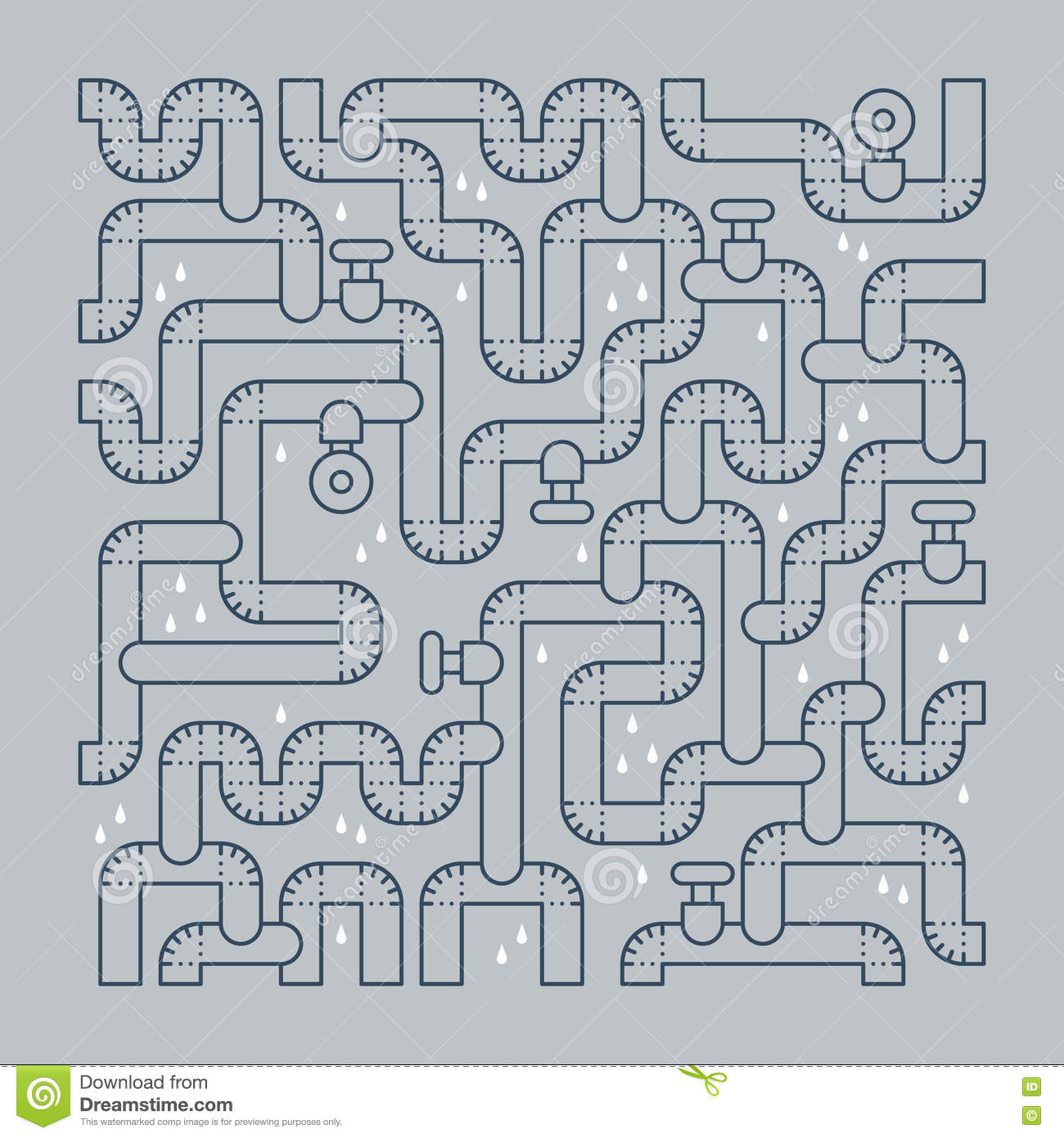 Plumbing Services Concept Backdrop Stock Photo - Image of drain ...