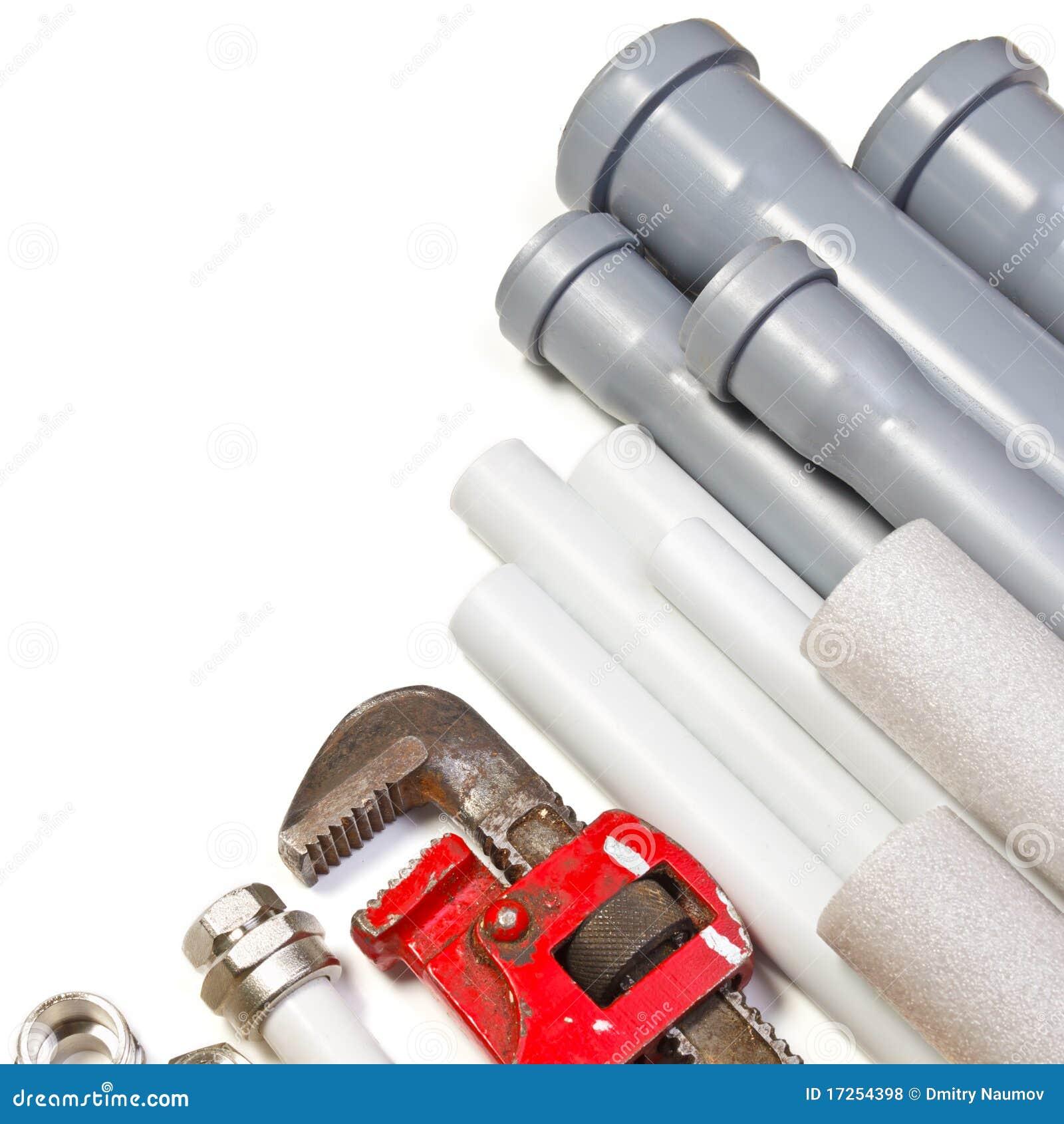 Plumbing Supplies Royalty Free Stock Photos - Image: 17254398