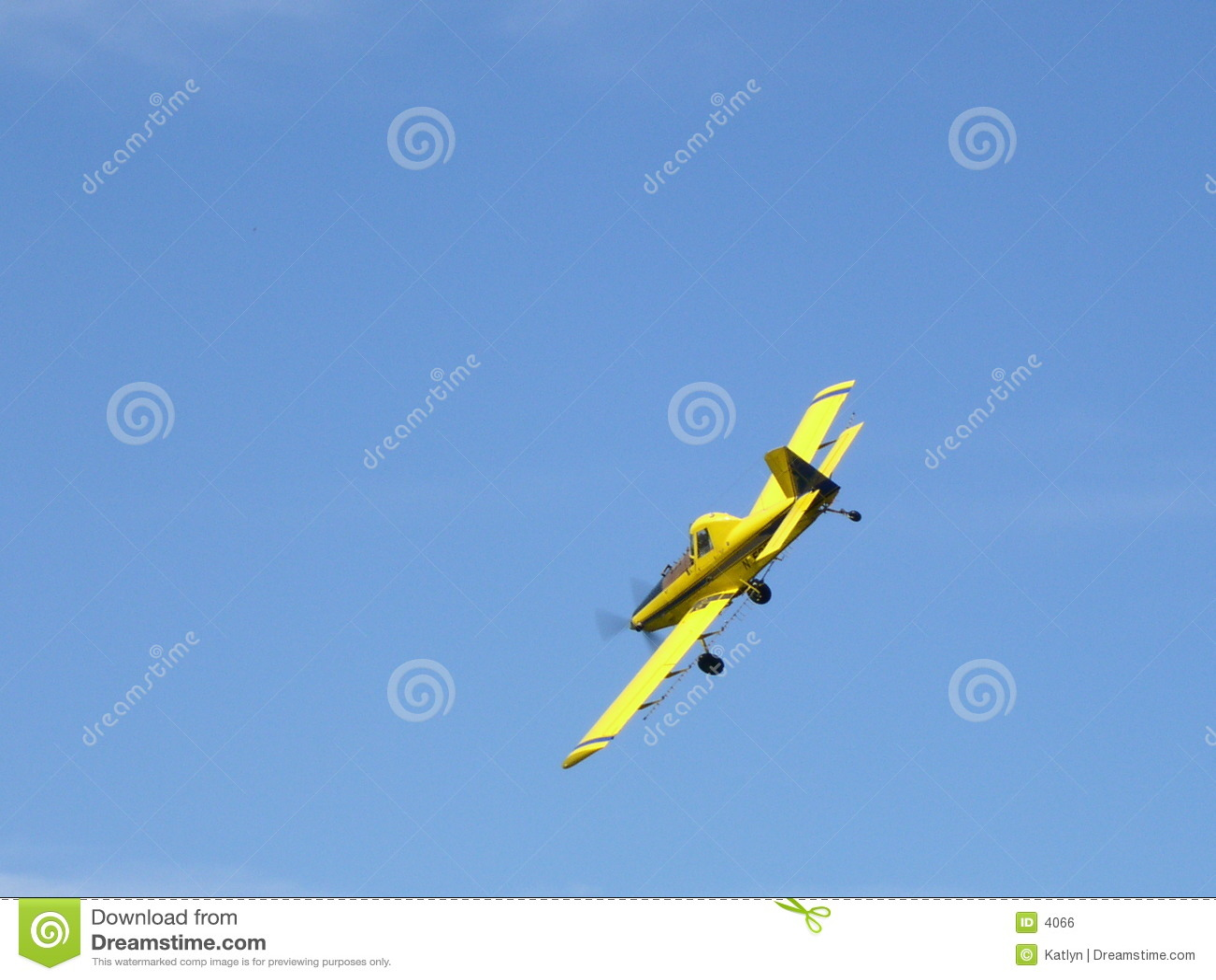 Plumero de la cosecha - aeroplano
