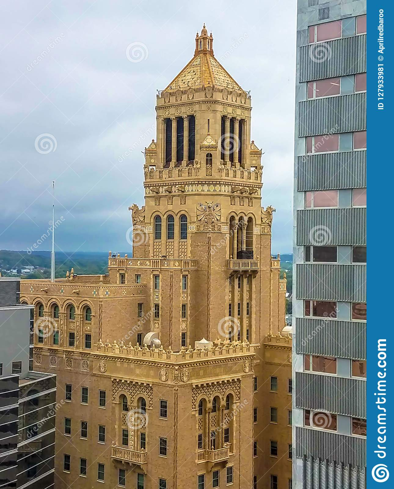 Plummer Building - Mayo Clinic In Rochester, Minnesota Stock Image