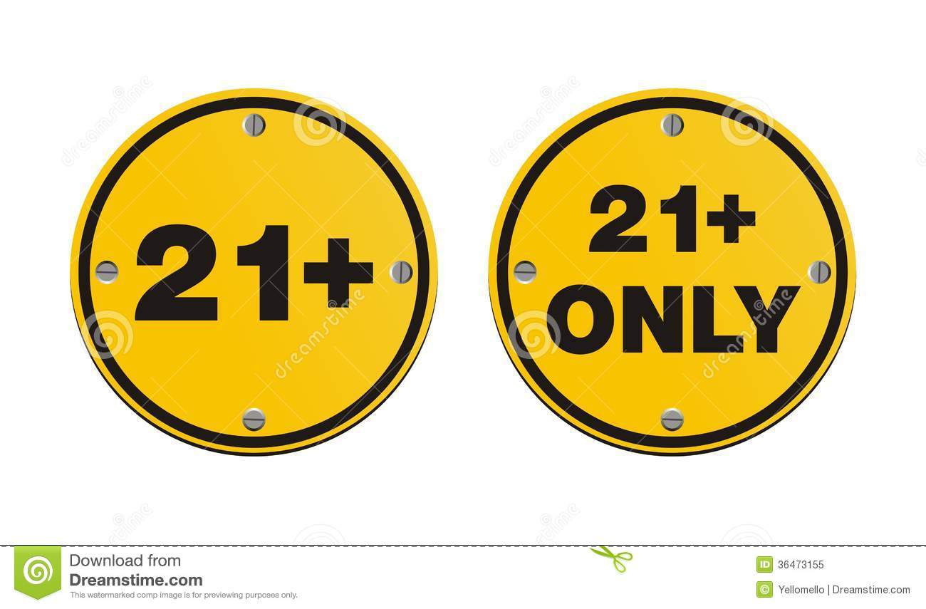 Yellow Pages Icon 21 Plus Round Yellow Signs