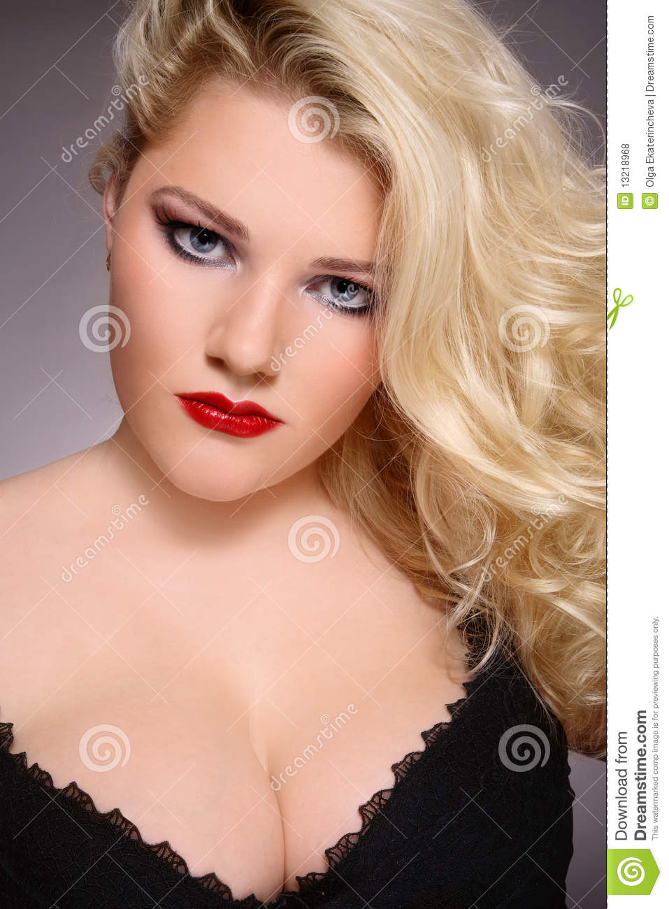 Plus-size Beauty Royalty Free Stock Photos