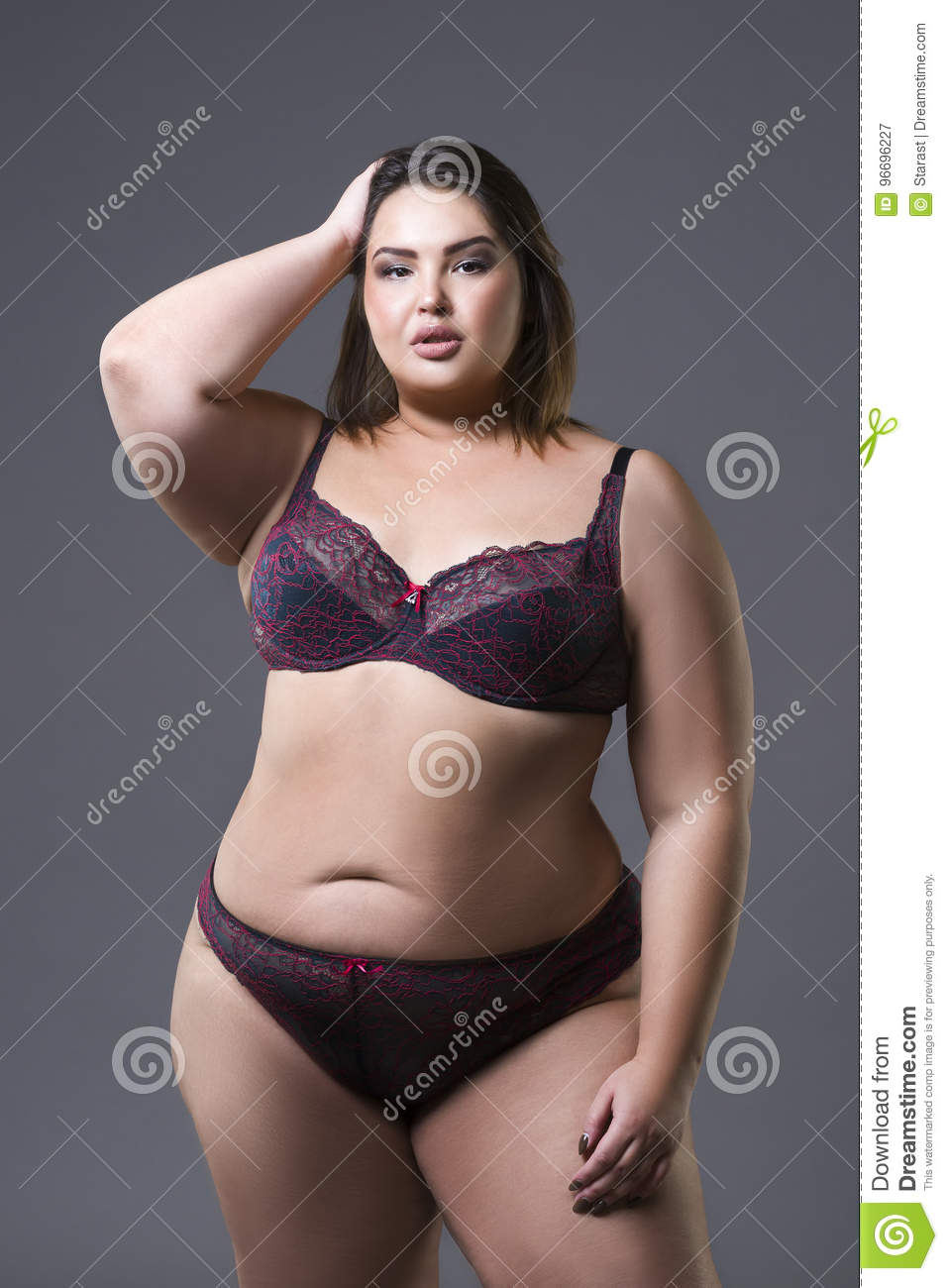 Plus Size Fashion Model In Underwear 211ea365d