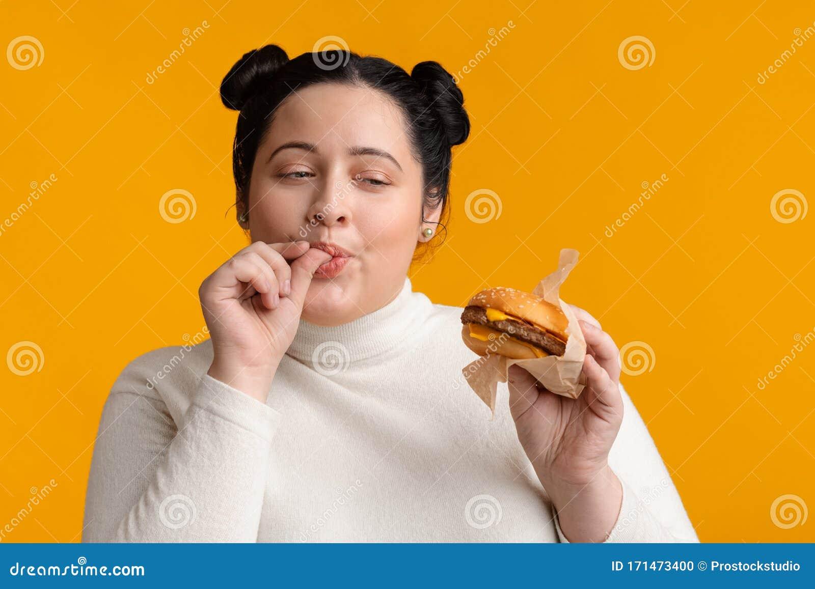 Finger chubby girl
