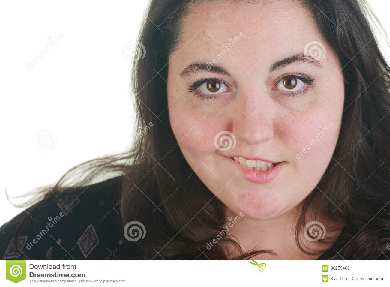 plus size woman posing in the studio stock photo - image of topless