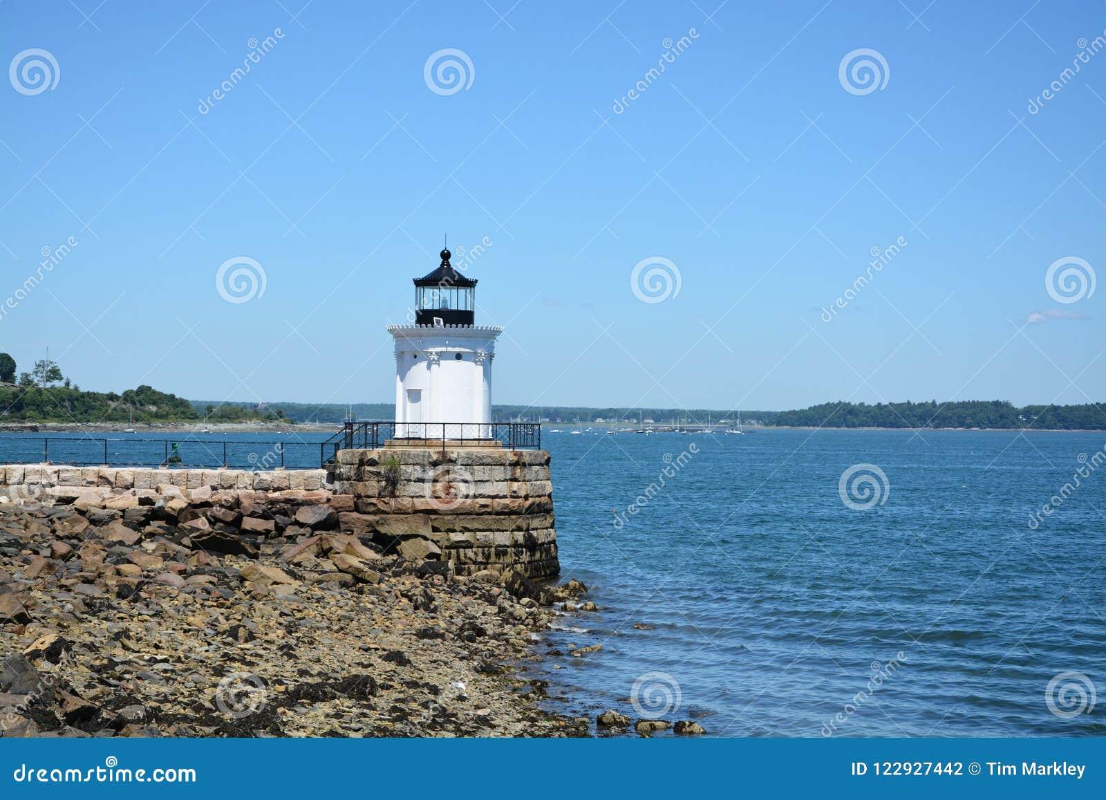 Pluskwy latarnia morska w Maine