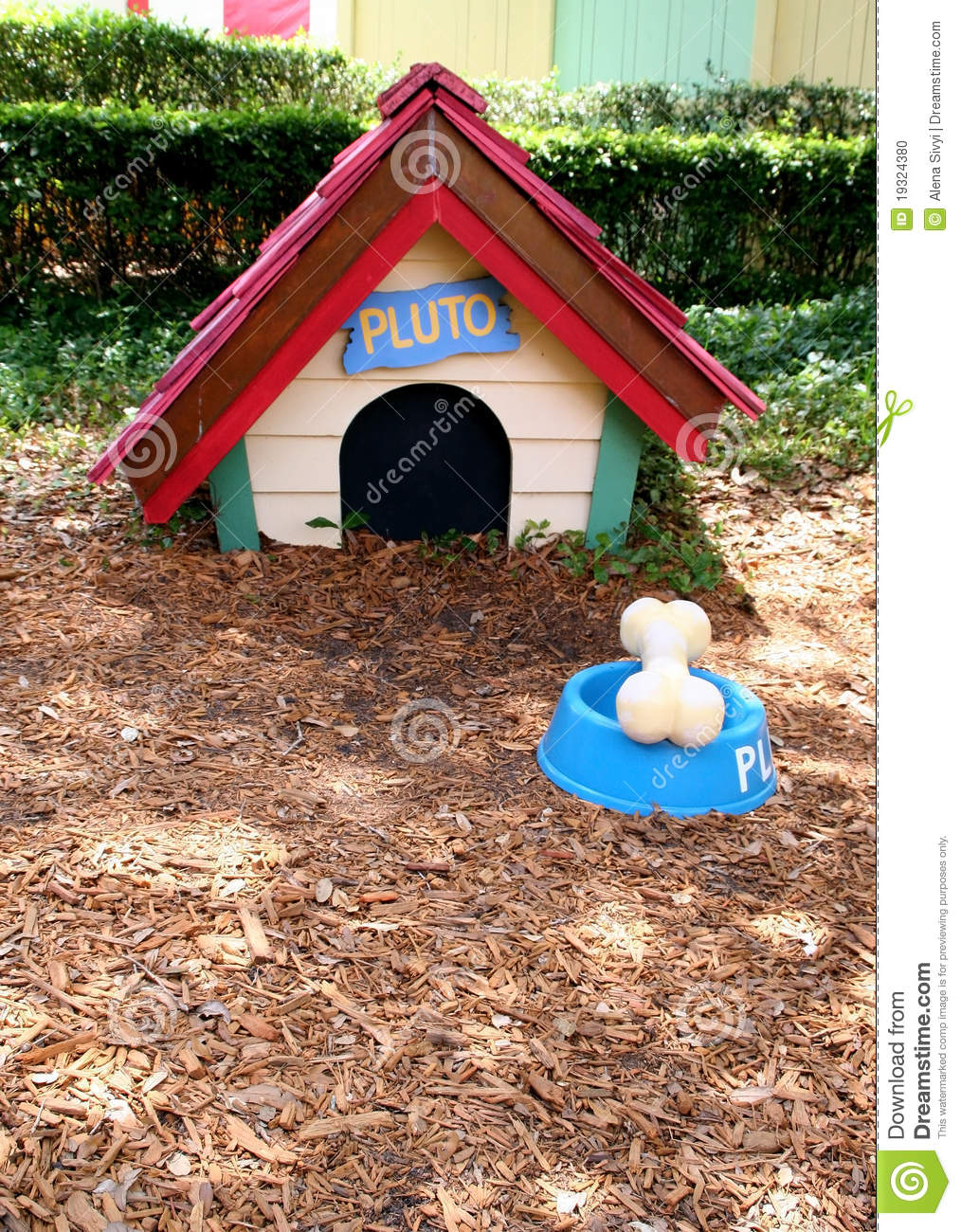 Pluto S Dog House Editorial Image Image Of Theme Friend 19324380