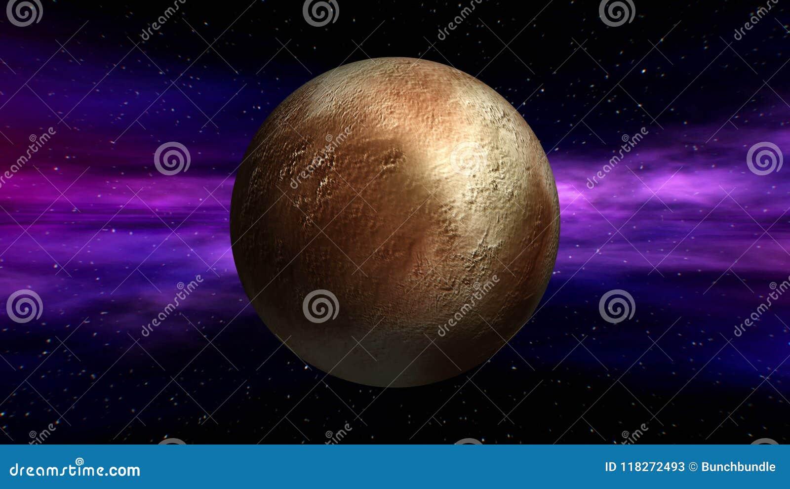 Pluto Texture