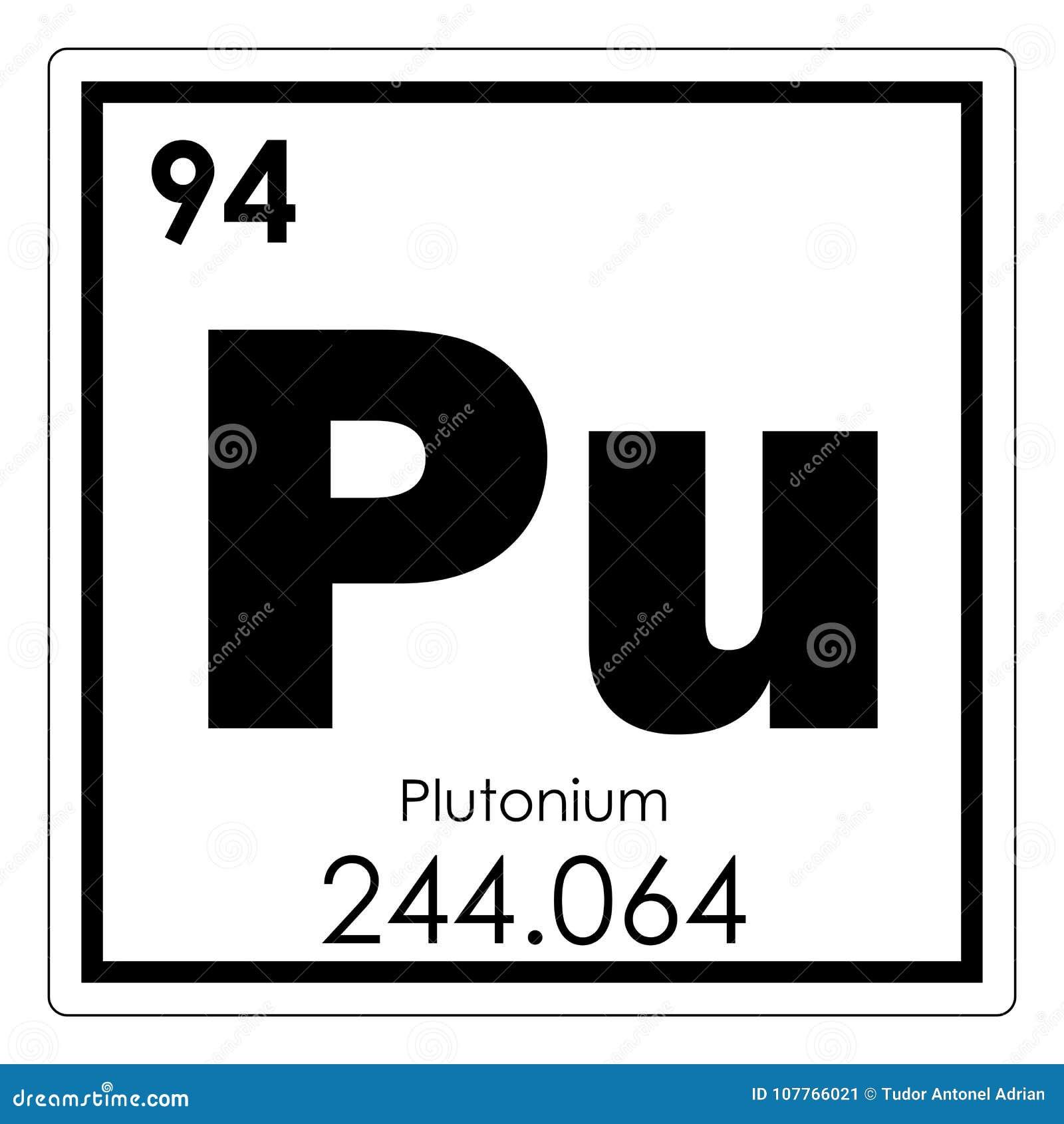 Plutonium chemical element stock illustration illustration of plutonium chemical element stock illustration illustration of symbol 107766021 urtaz Choice Image