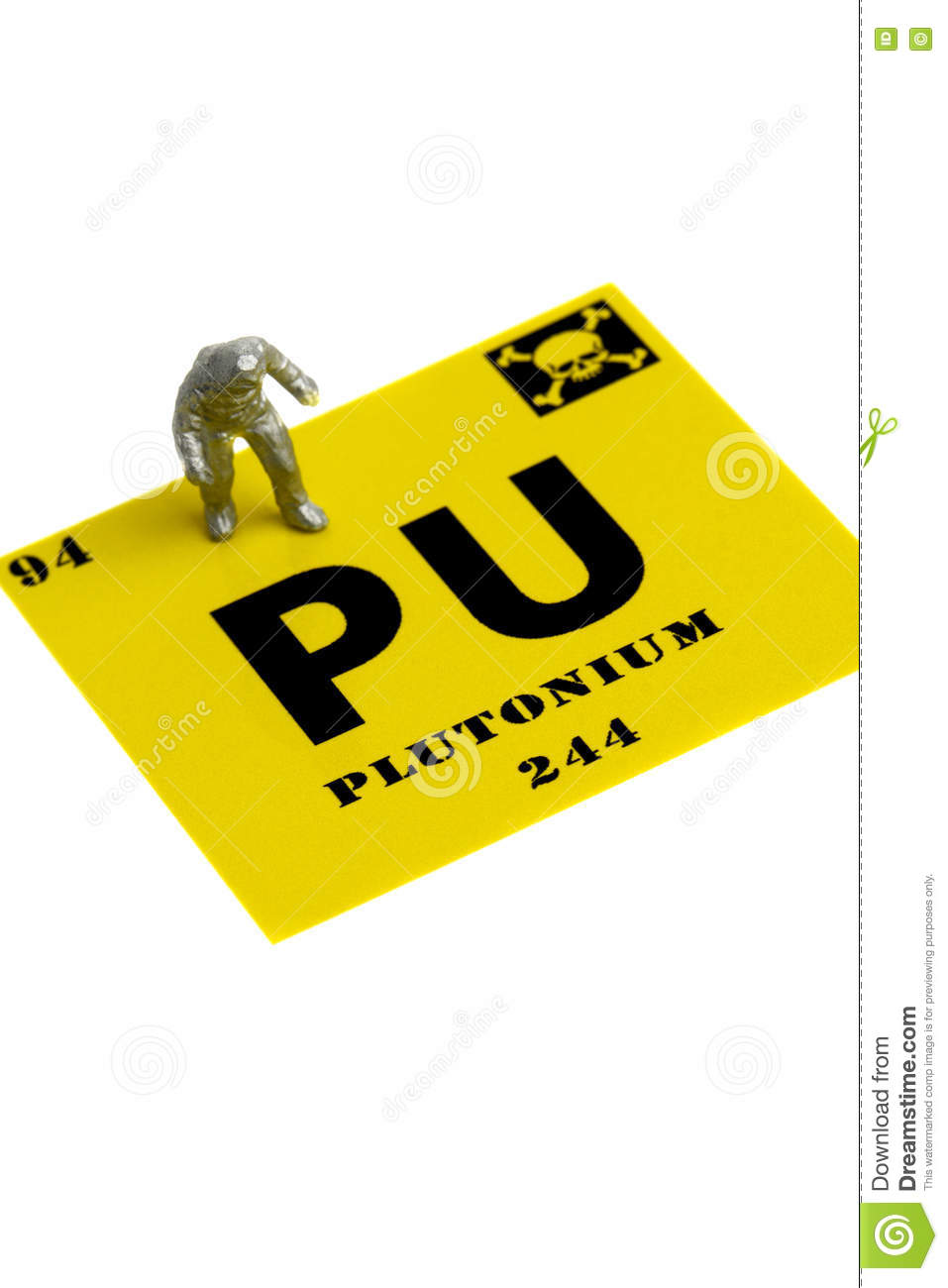 Plutonium symbol miniature man chemical suit stock photo image plutonium symbol miniature man chemical suit safety atom buycottarizona