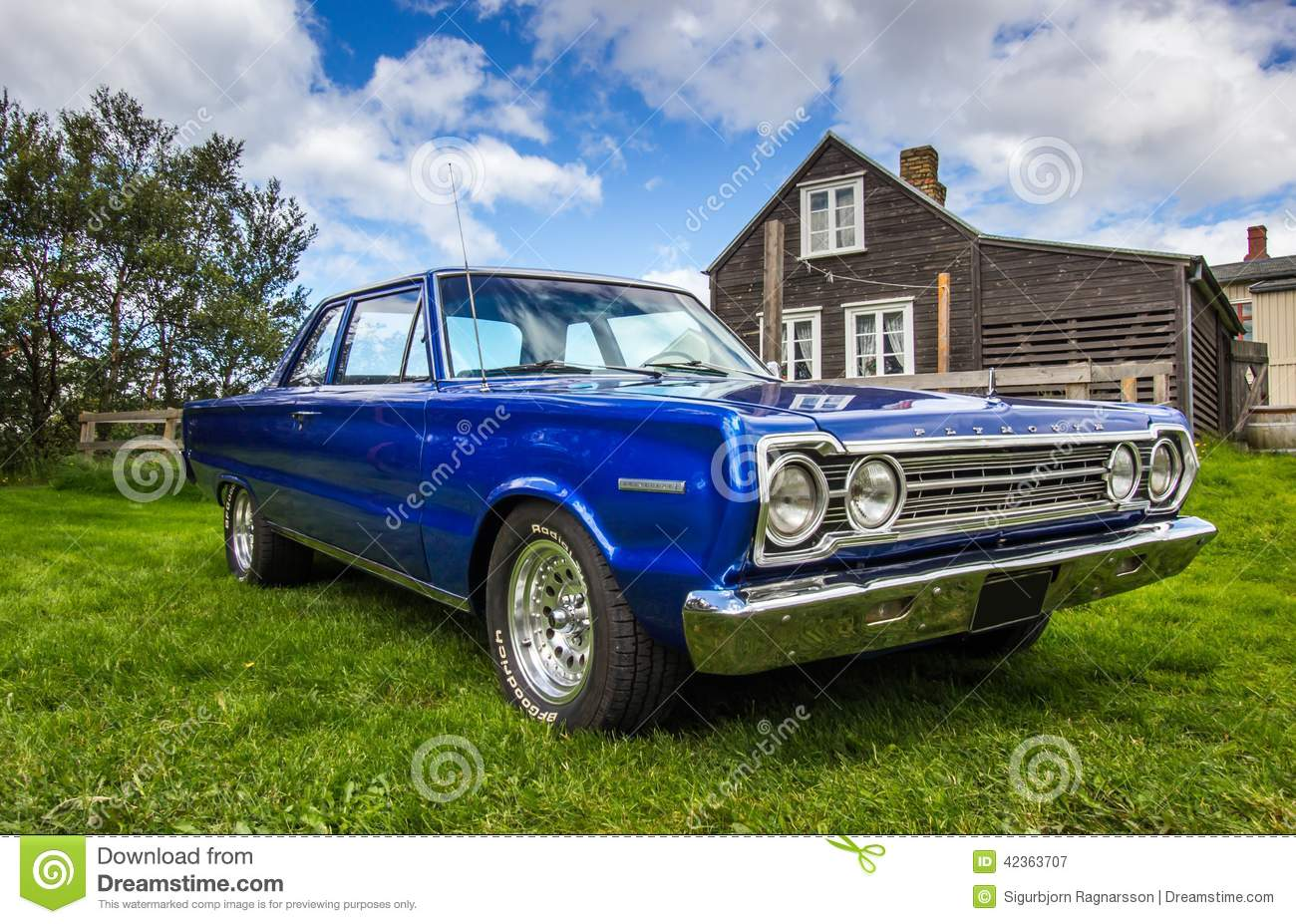 1967 Plymouth Belvedere Editorial Photography Image