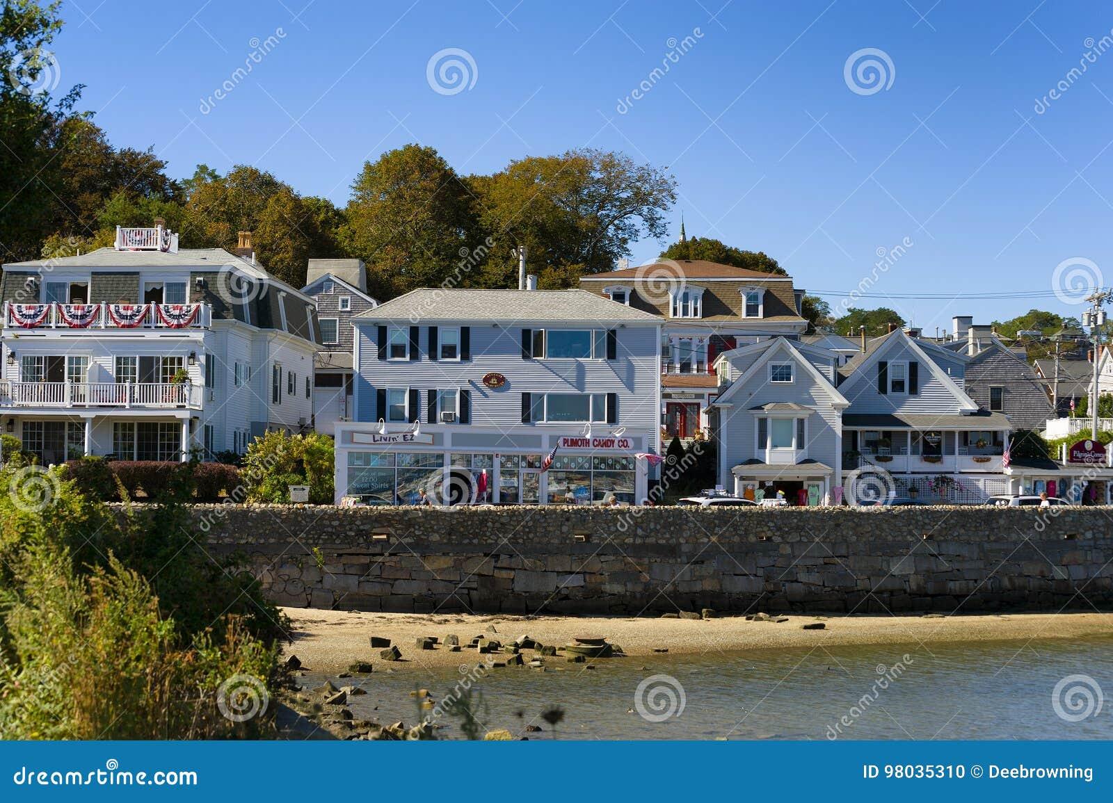 Plymouth Massachusetts em Cape Cod