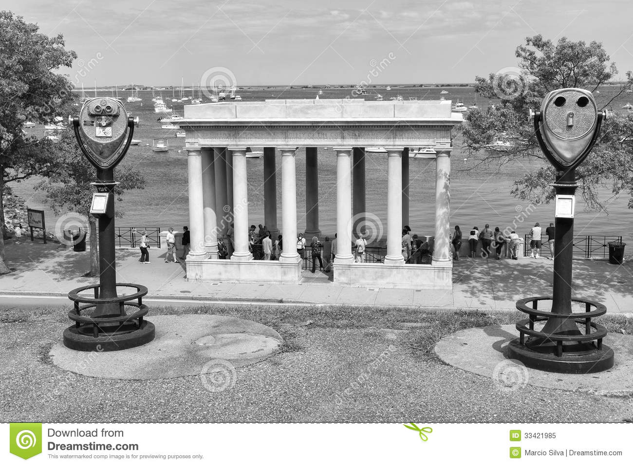 Plymouth Rock Editorial Image Image Of Massachusetts