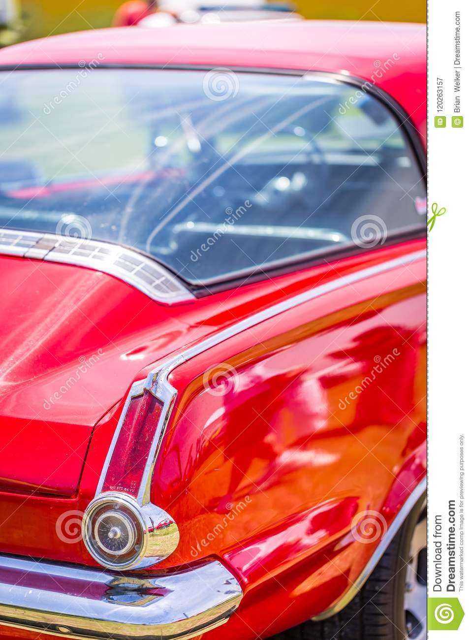 1964 Plymouth Valiant Barracuda Editorial Photography - Image of