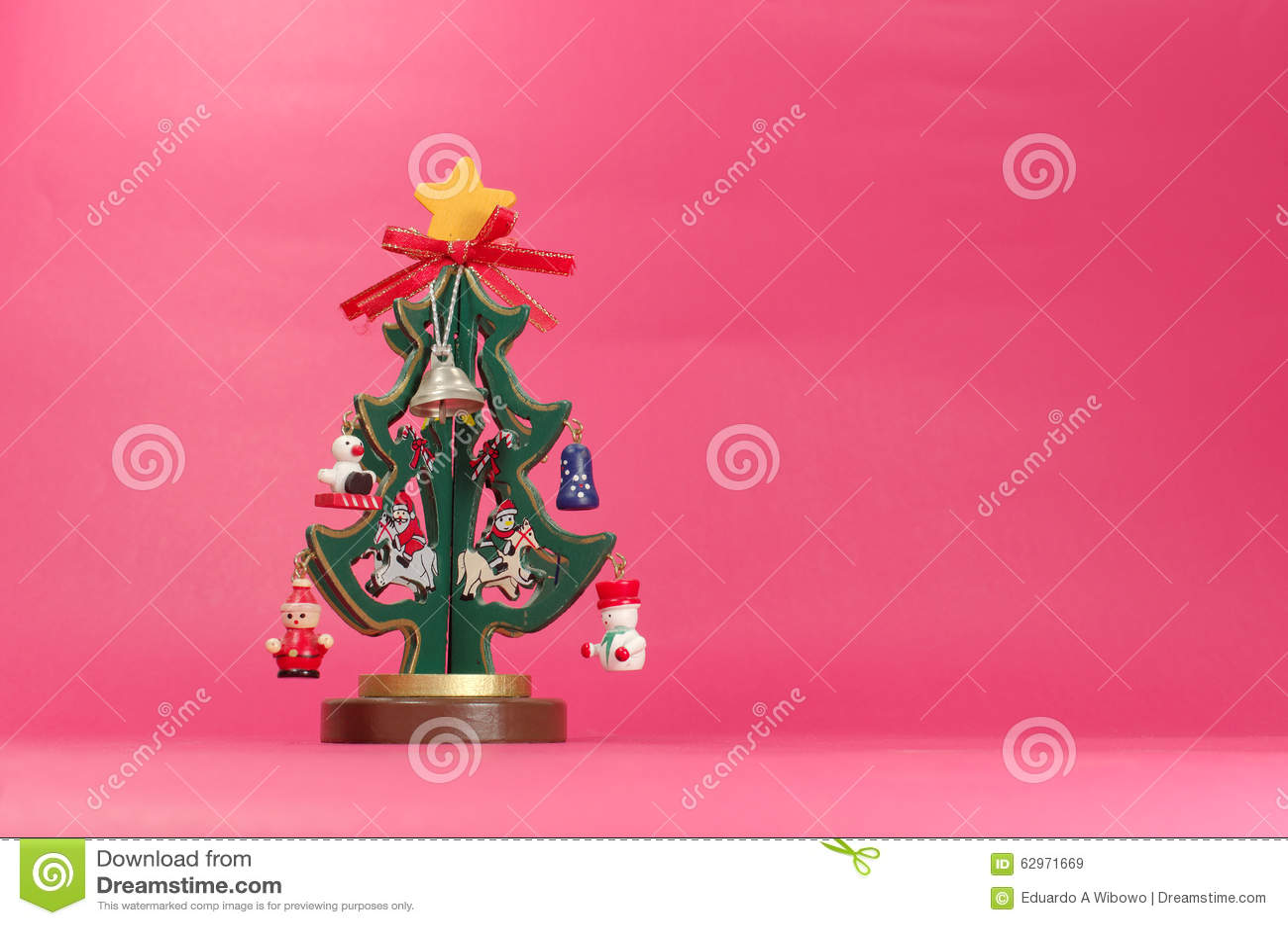 Plywood christmas tree stock photo image 62971669 for Plywood christmas tree