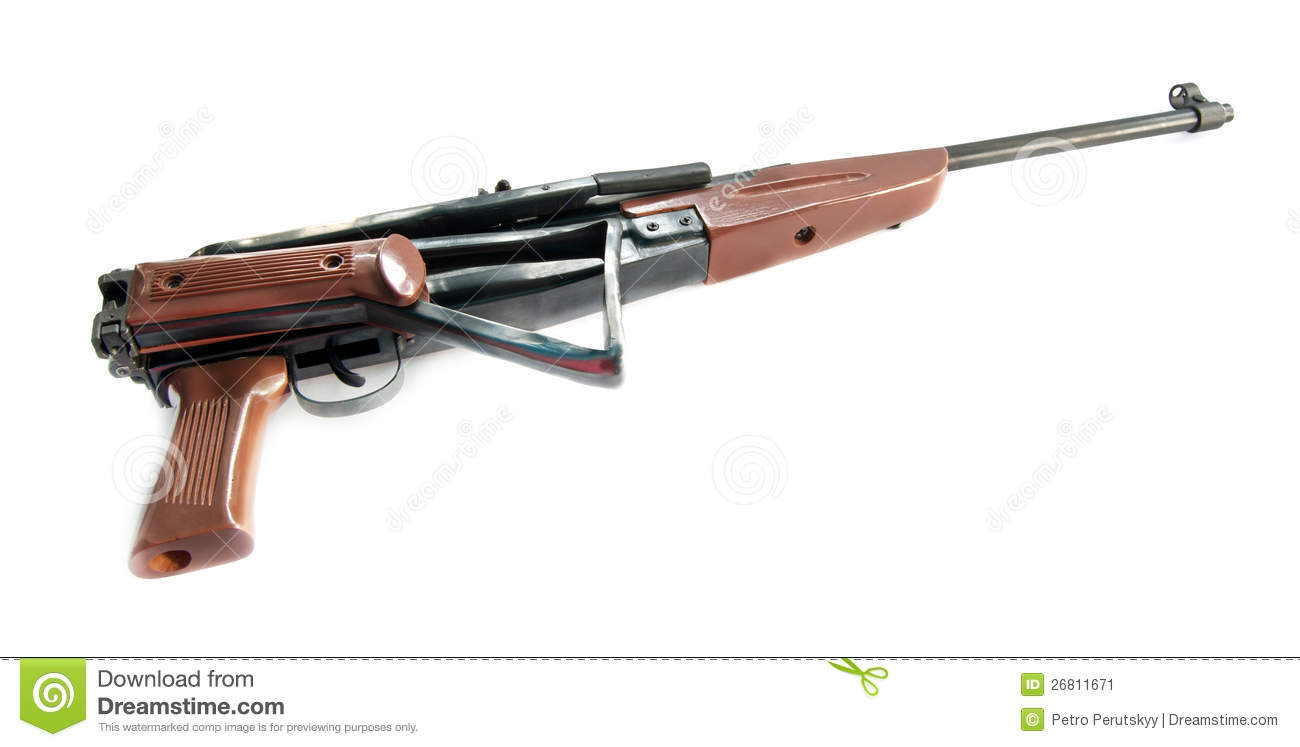 how to clean air rifle stock