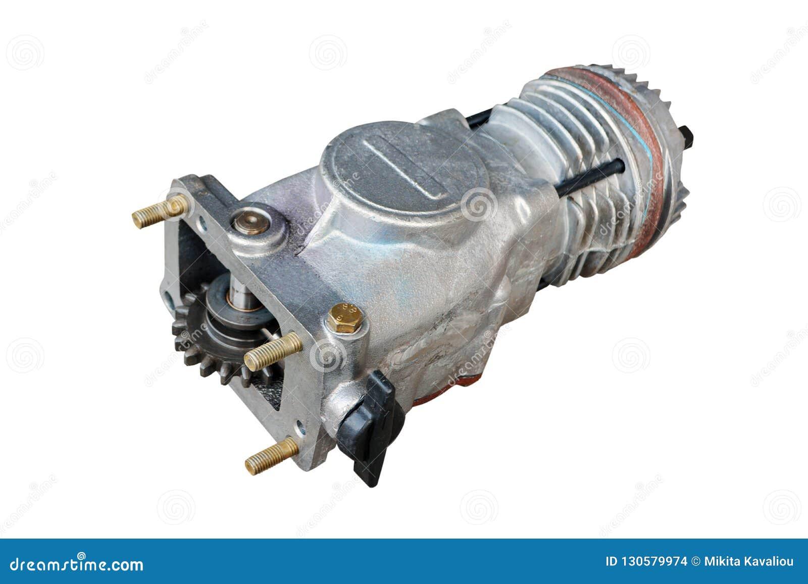 Pneumatische compressor voor de rem