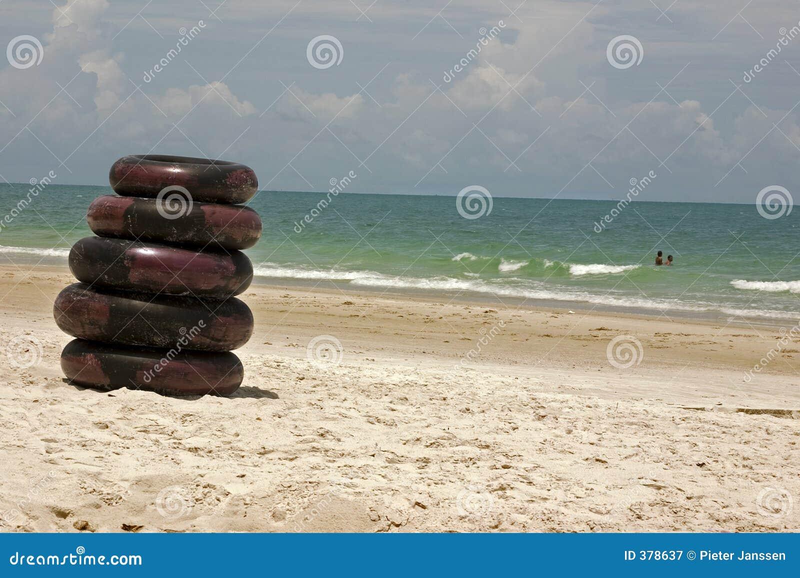 Pneus de plage