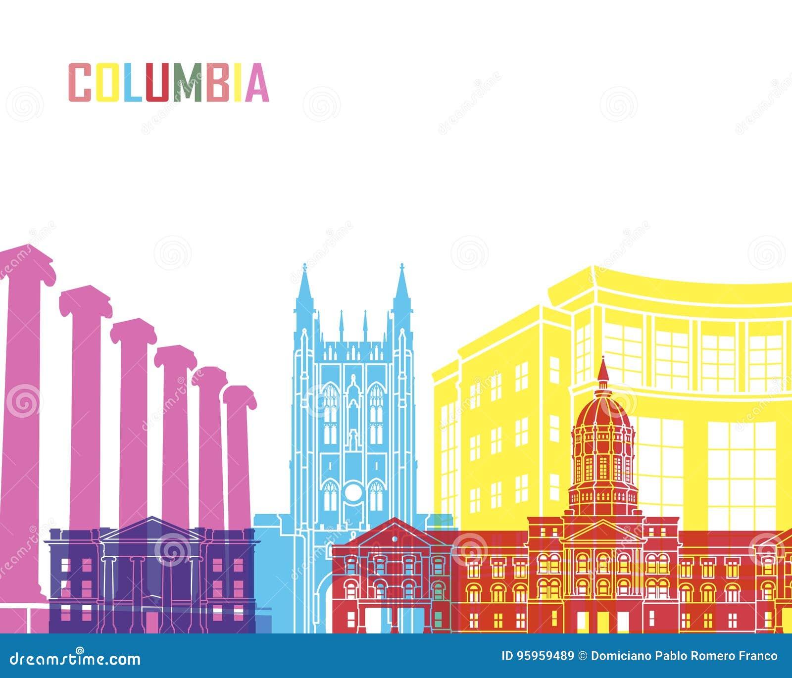 PNF da skyline de Colômbia MO
