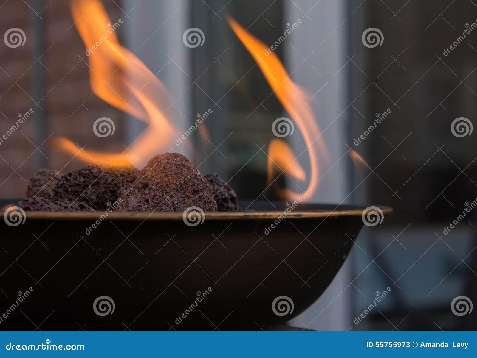Poço do fogo do quintal