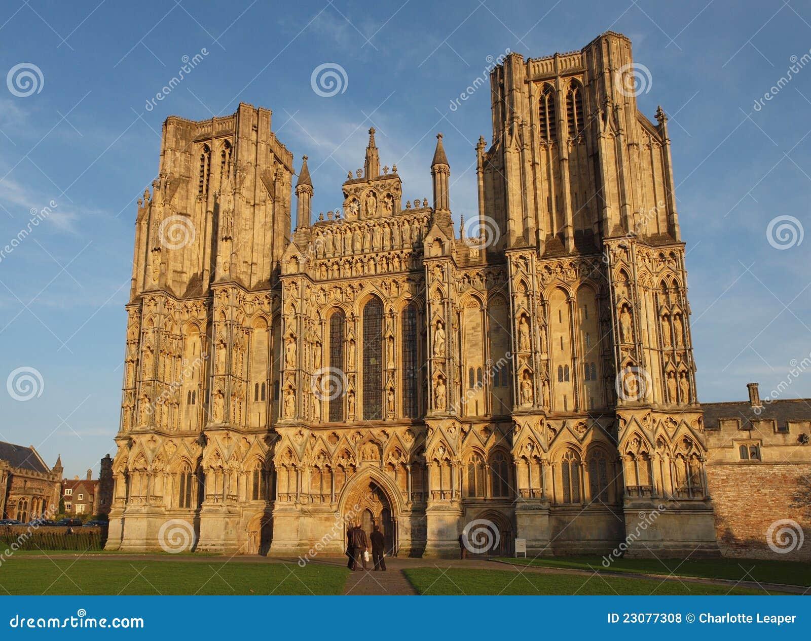 Poços catedral, Somerset, Inglaterra