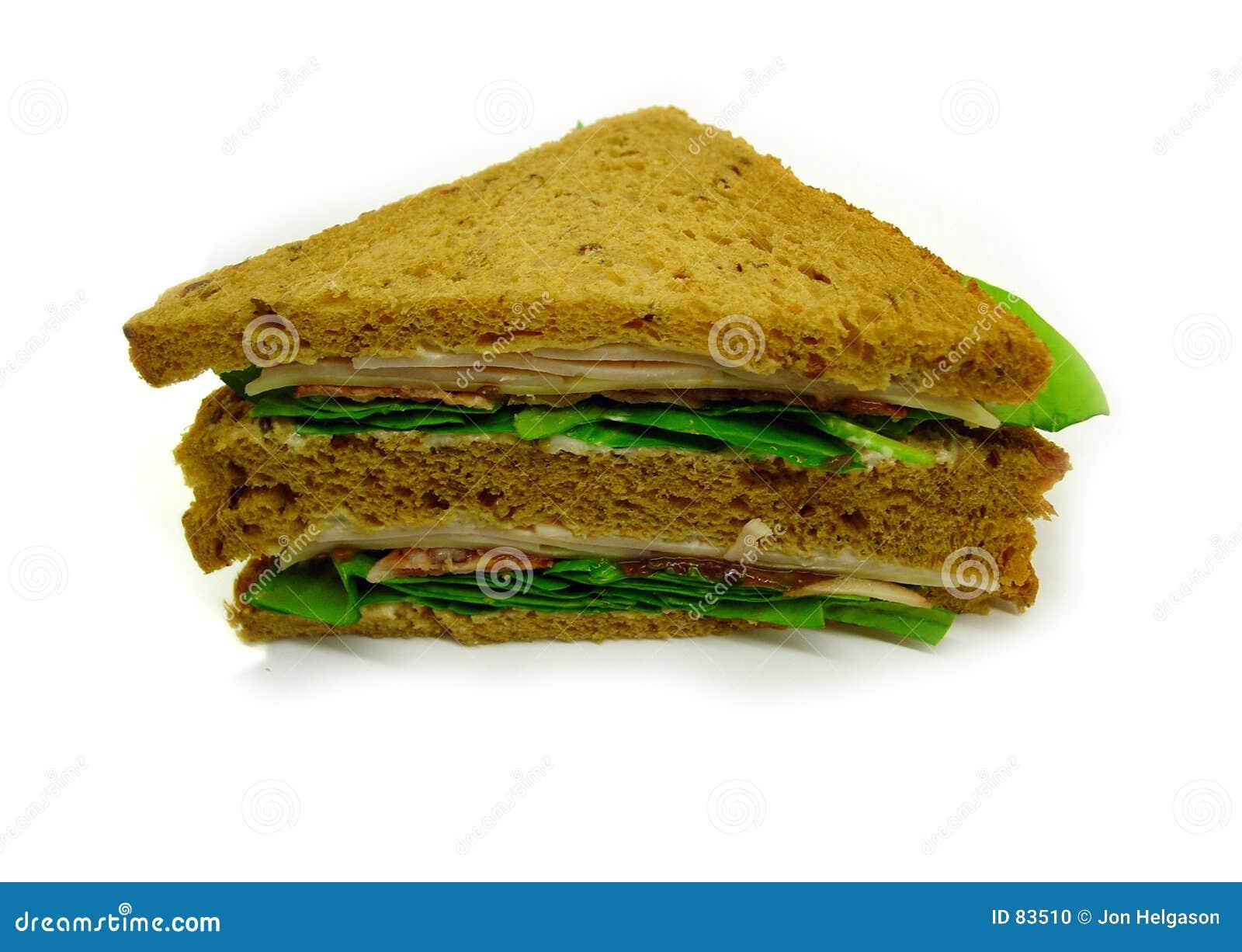 Połówkę kanapki z serem
