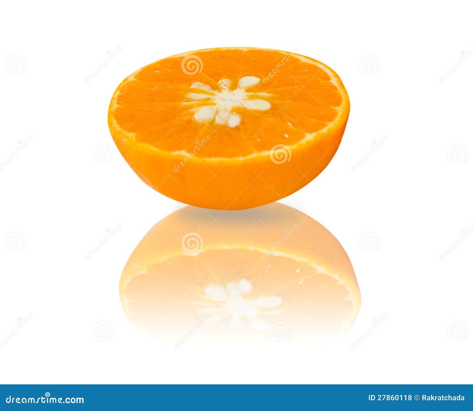 Połówka pomarańcze