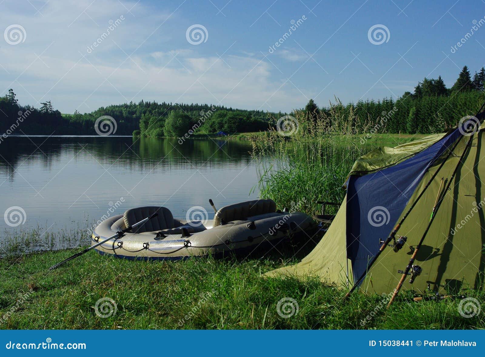 Połowu namiot