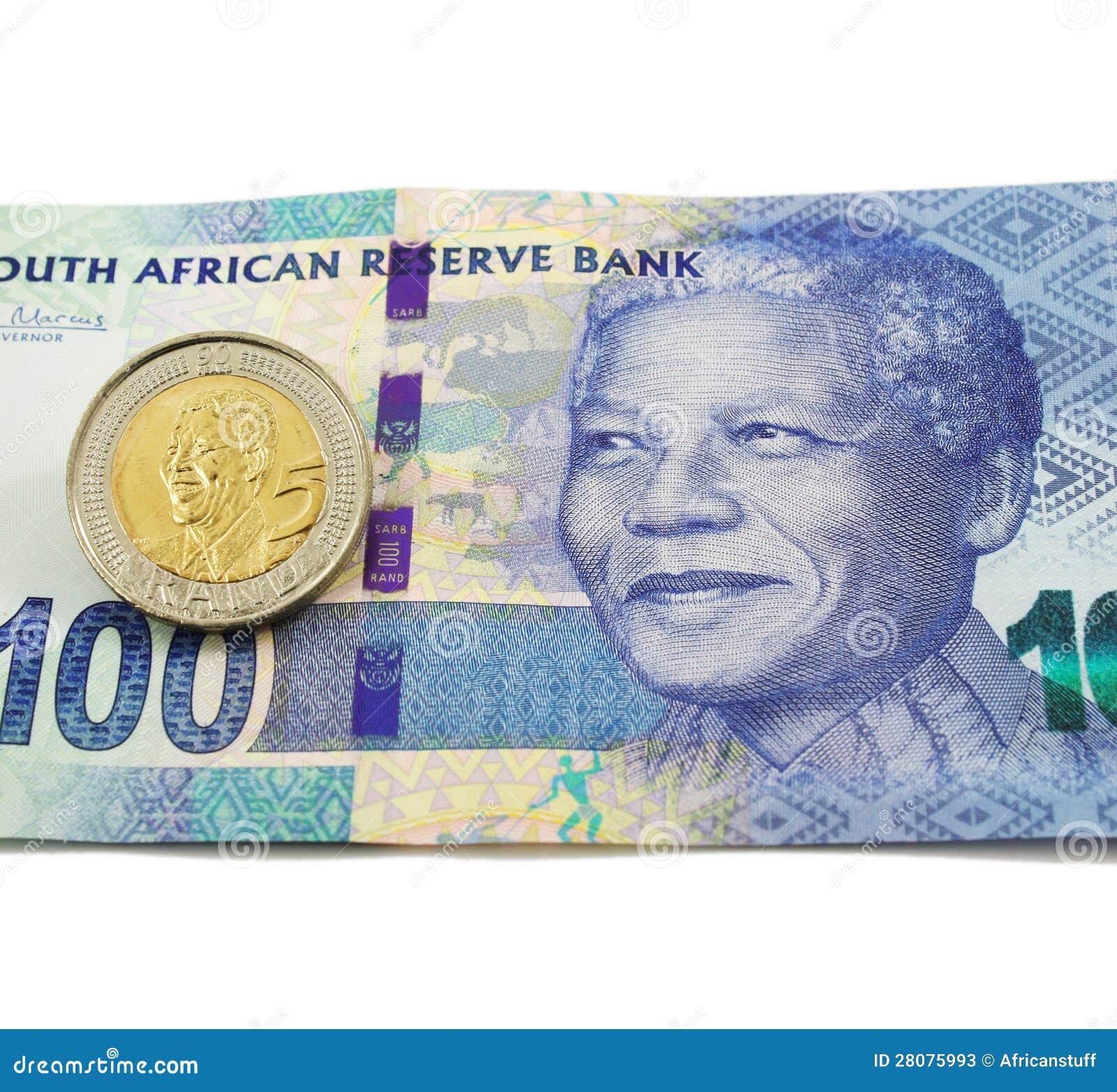 Południe - afrykańska waluta