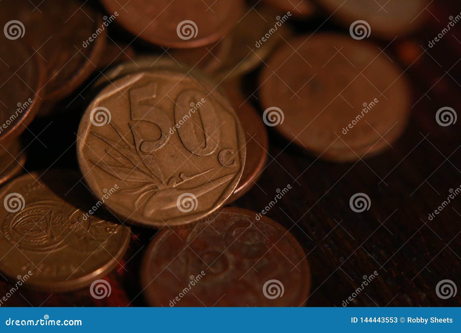 Południe - afrykanin mennicza waluta