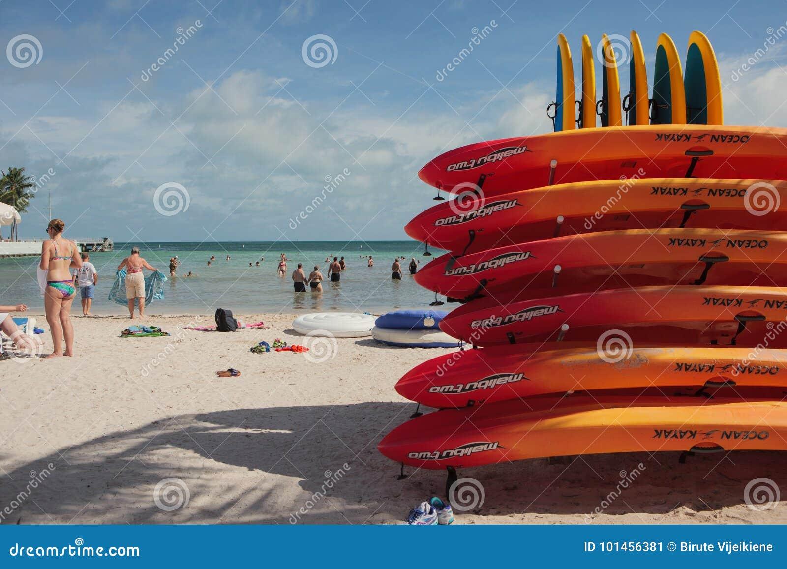 Południe plaża w Key West, Floryda