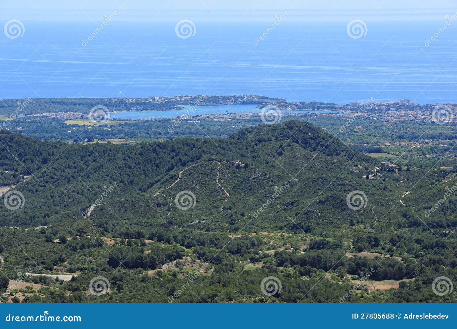 Południowe wybrzeże Majorca
