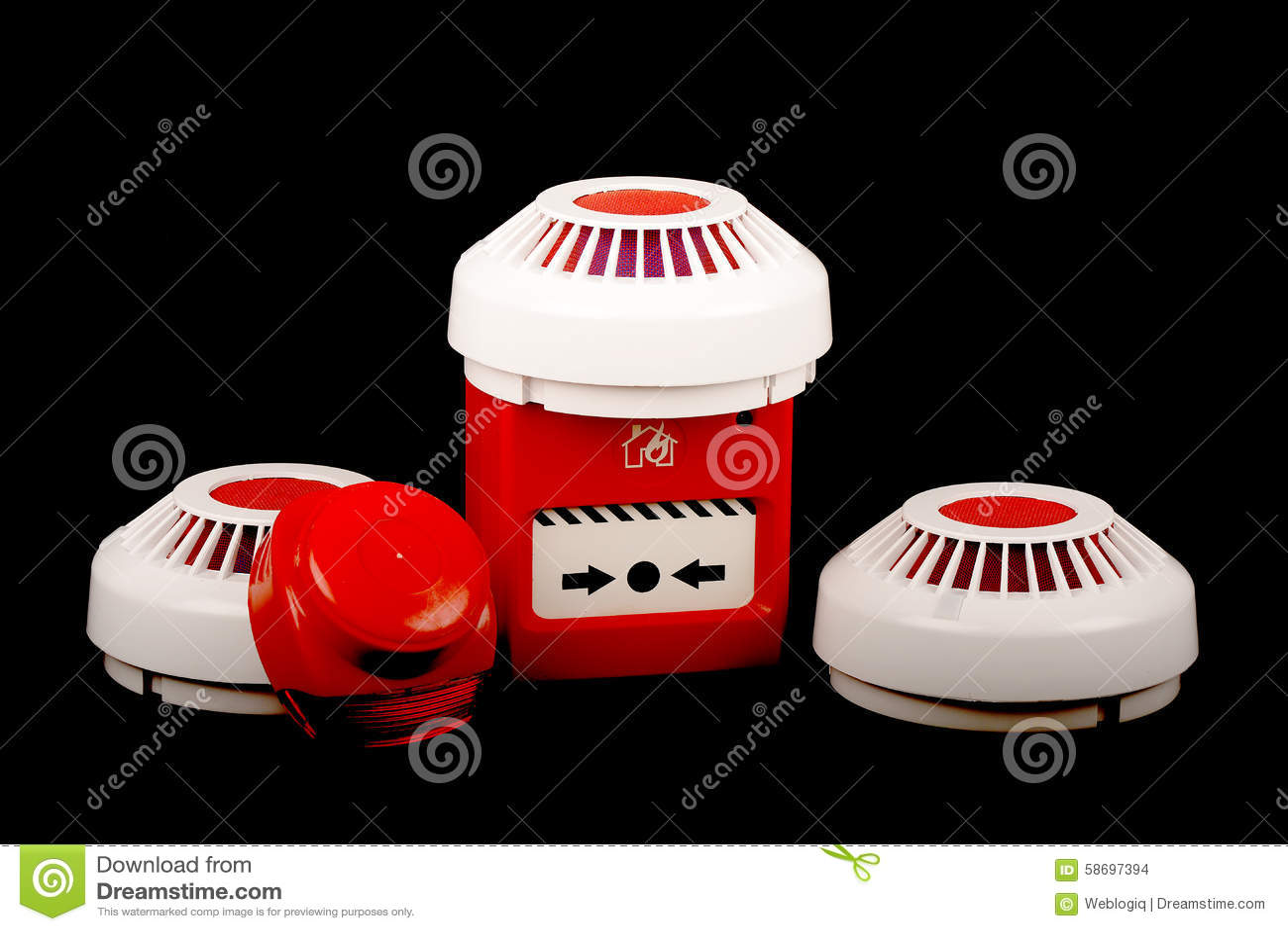 Pożarniczego alarma ochrona