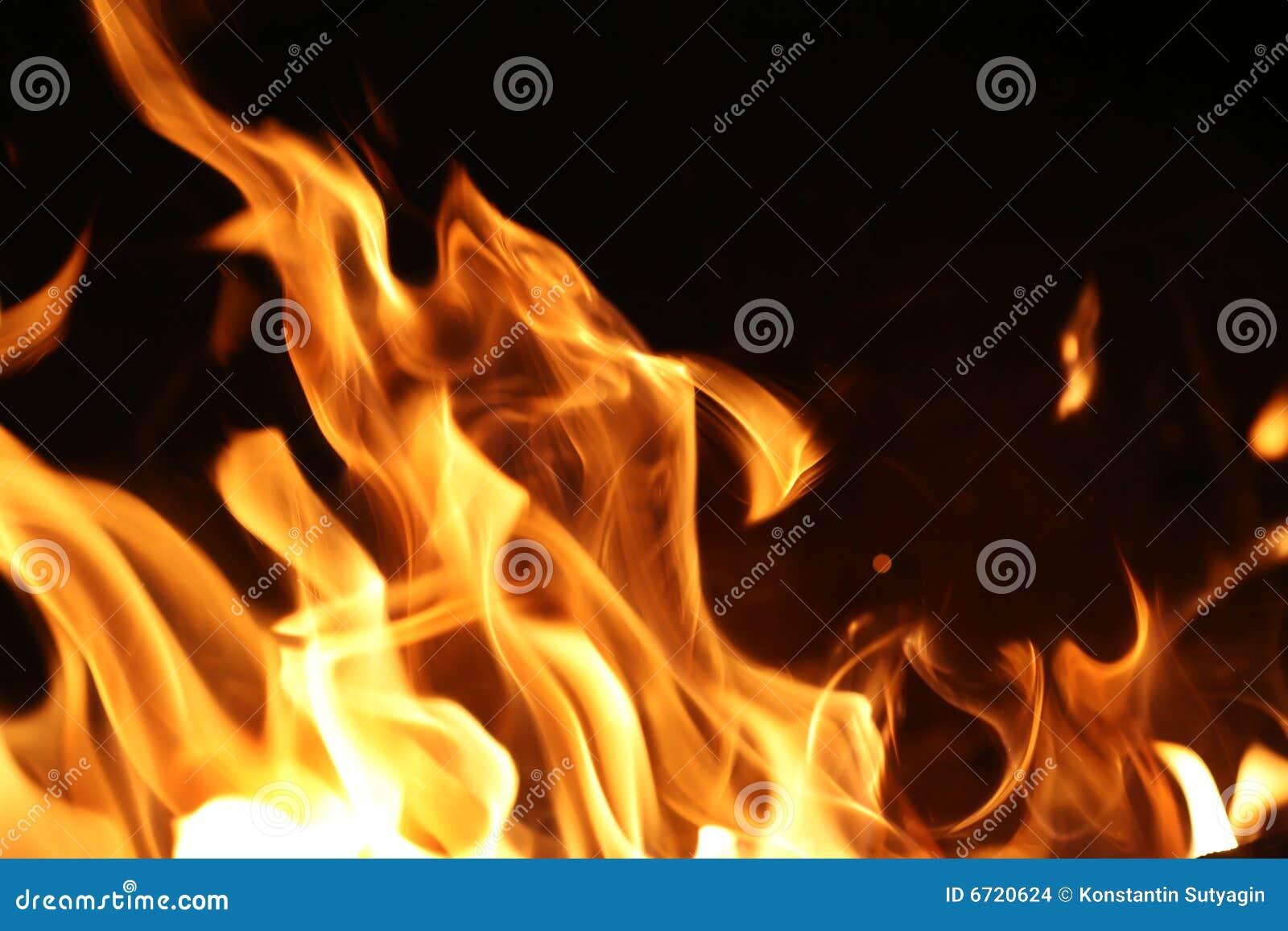 Pożarniczy płomienie