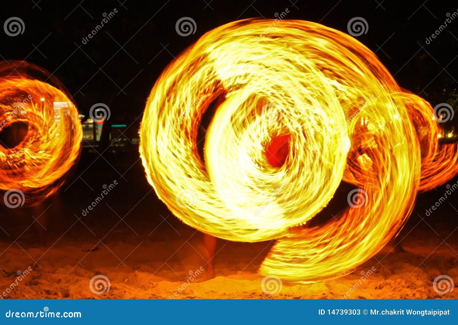 Pożarniczy przedstawienie