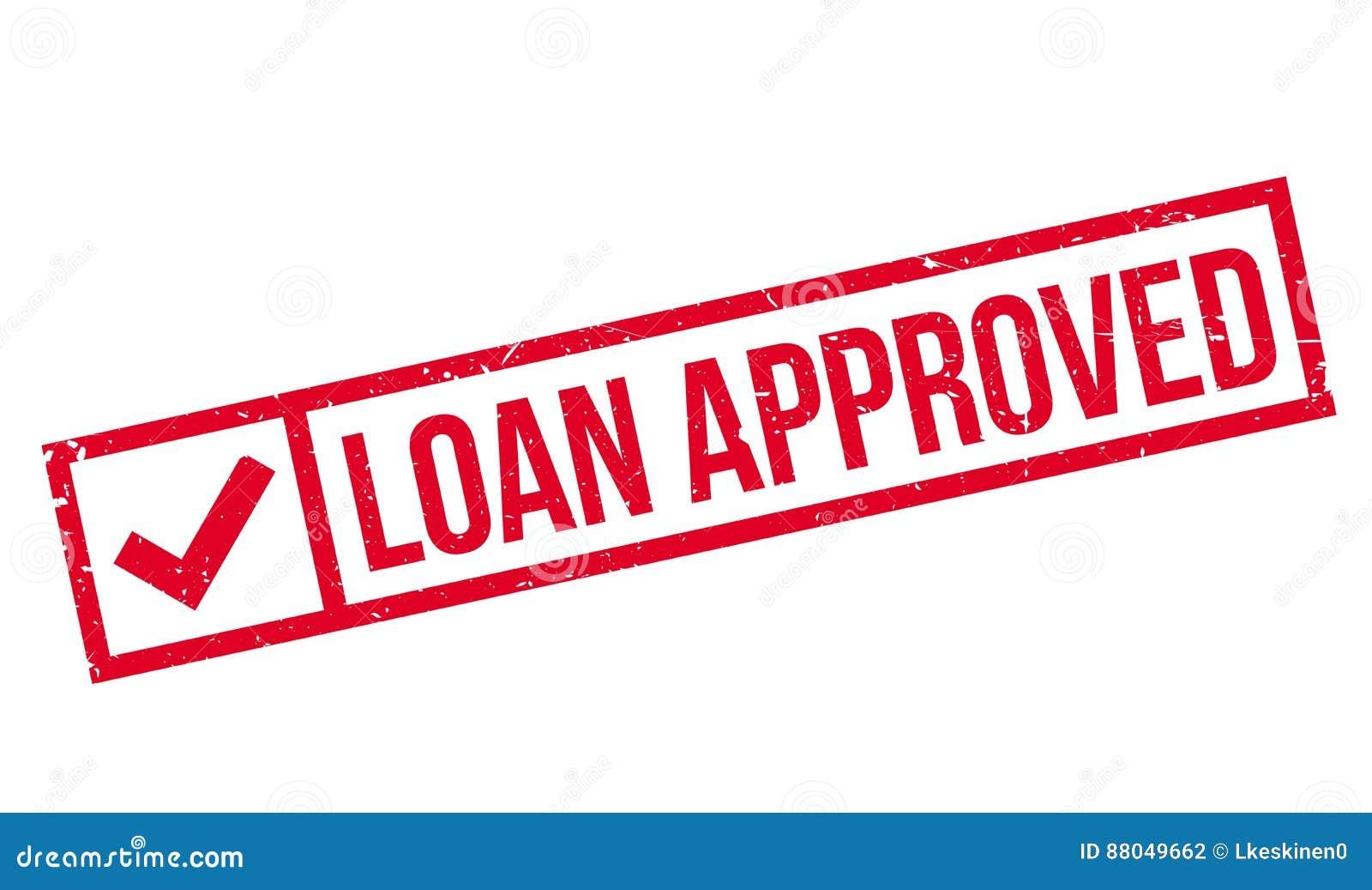 Pożyczki zatwierdzona pieczątka