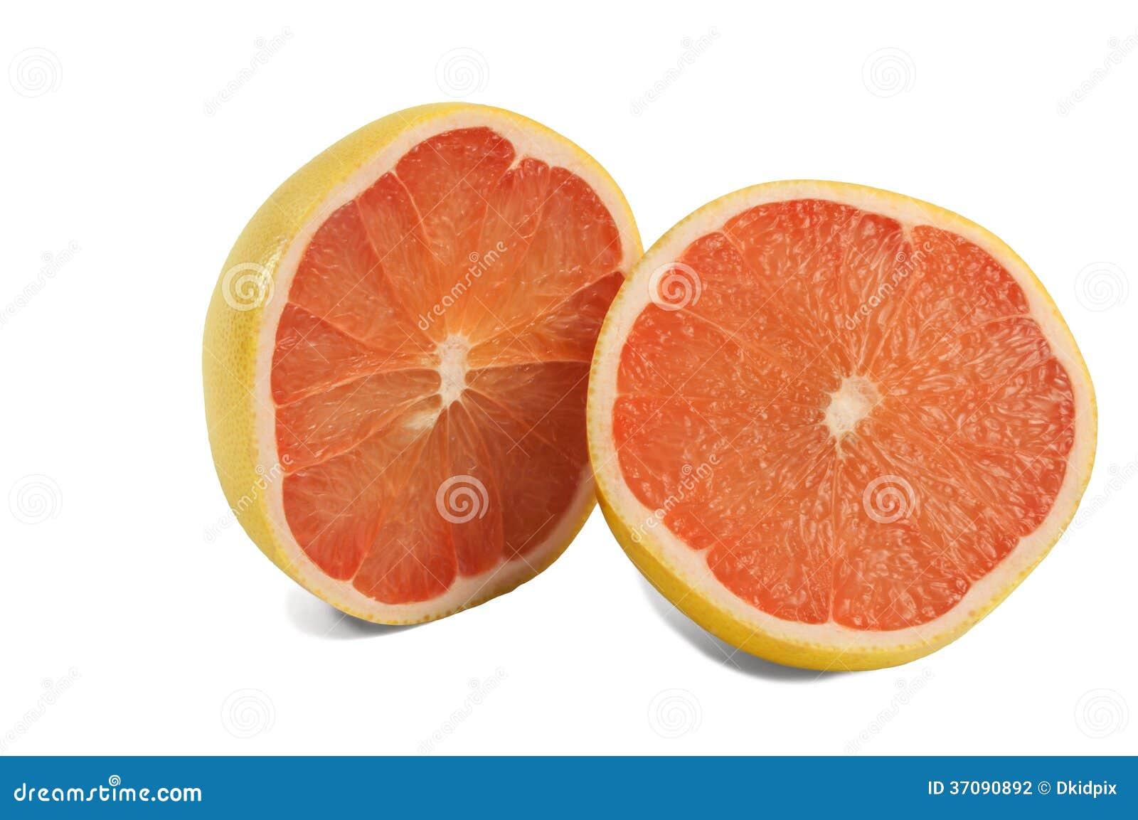 Download Połówka grapefruitowa zdjęcie stock. Obraz złożonej z dietetyczka - 37090892