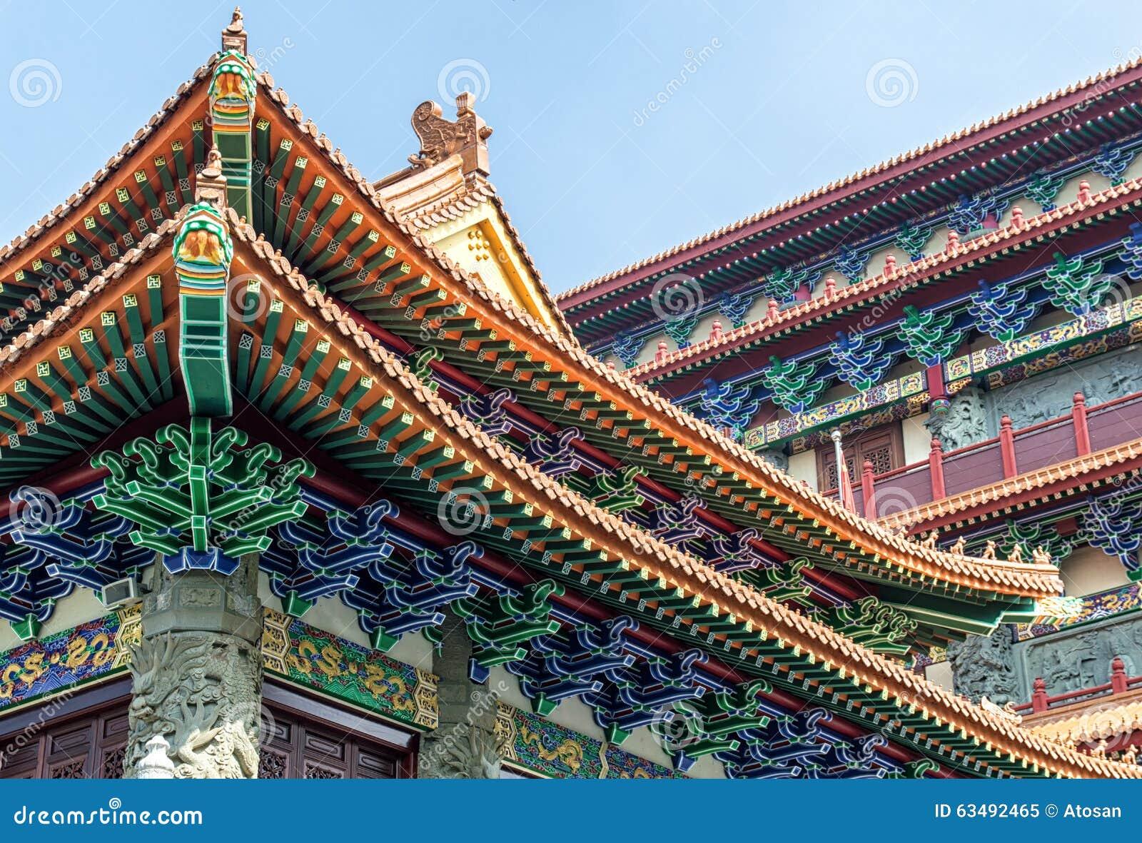 PO Lin Monastery Detail