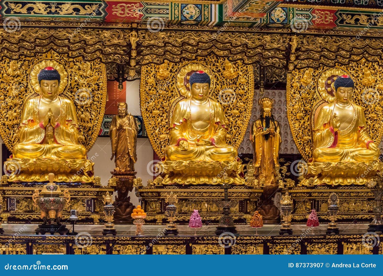 Po Lin Monastery, isola di Lantau, Hong Kong, Cina