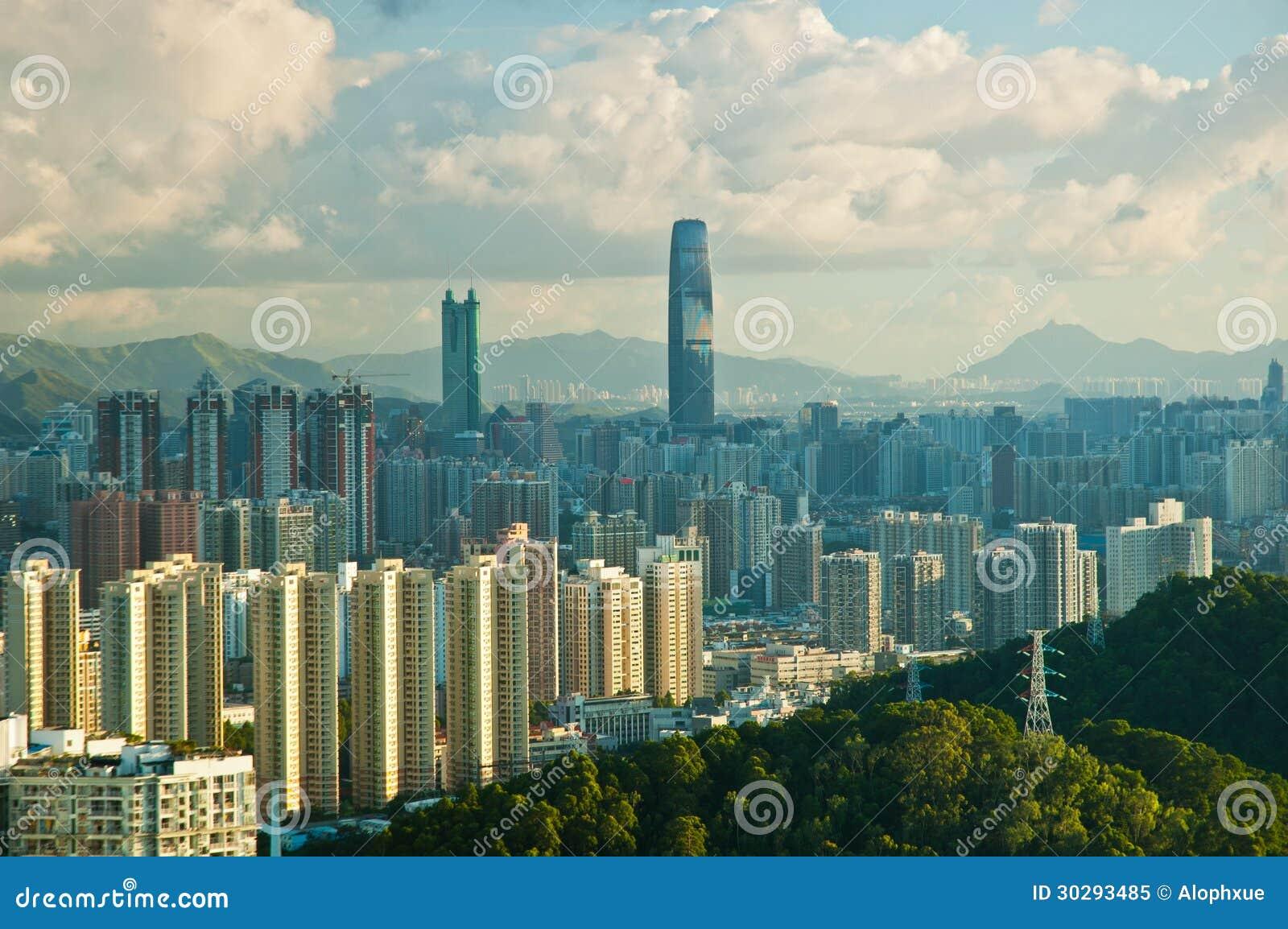 Shenzhen miasto