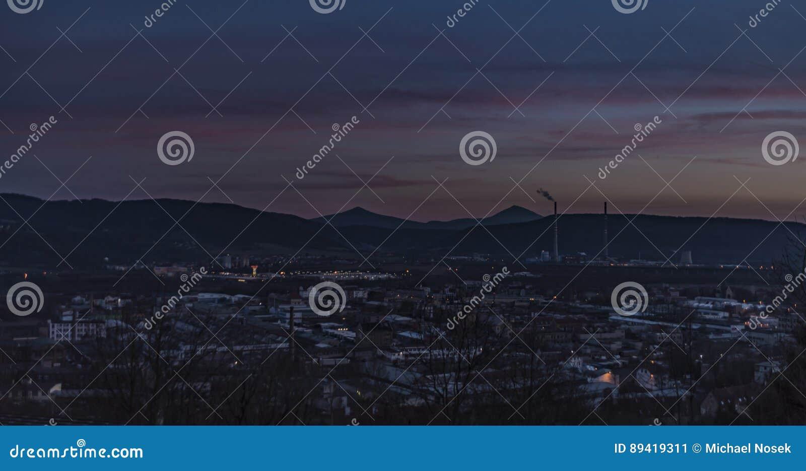 Po zmierzchu w Usti nad Labem