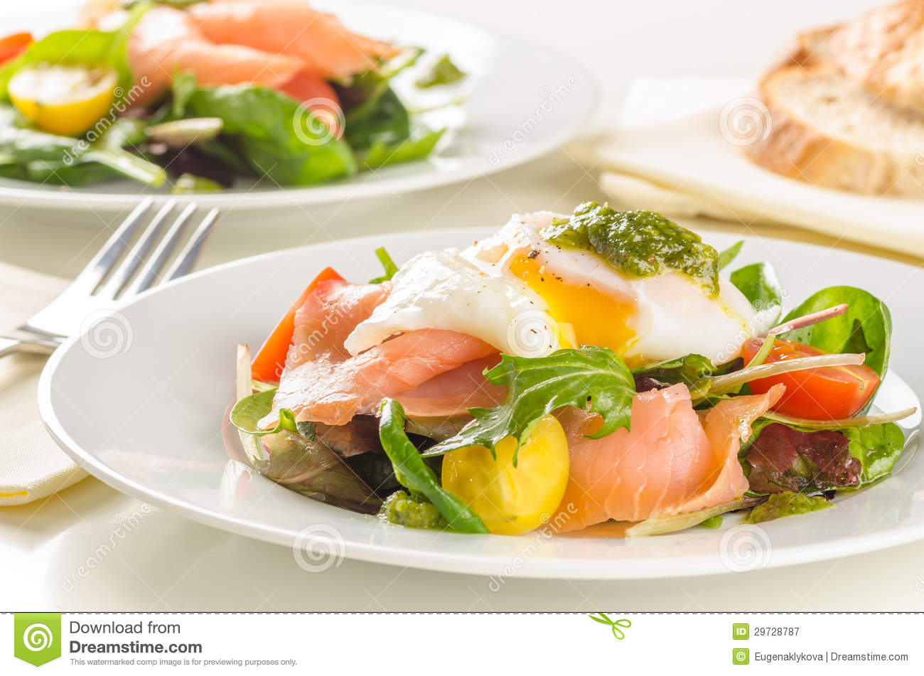 salmon egg and arugula salad recipe yummly smoked salmon and egg salad ...