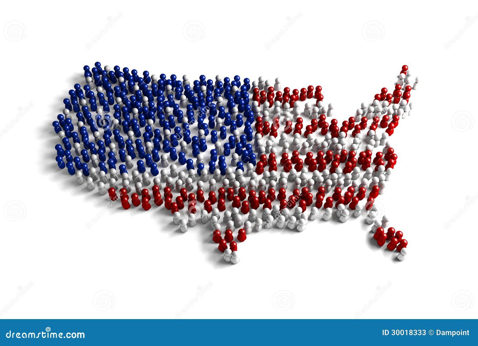 Población de los Estados Unidos
